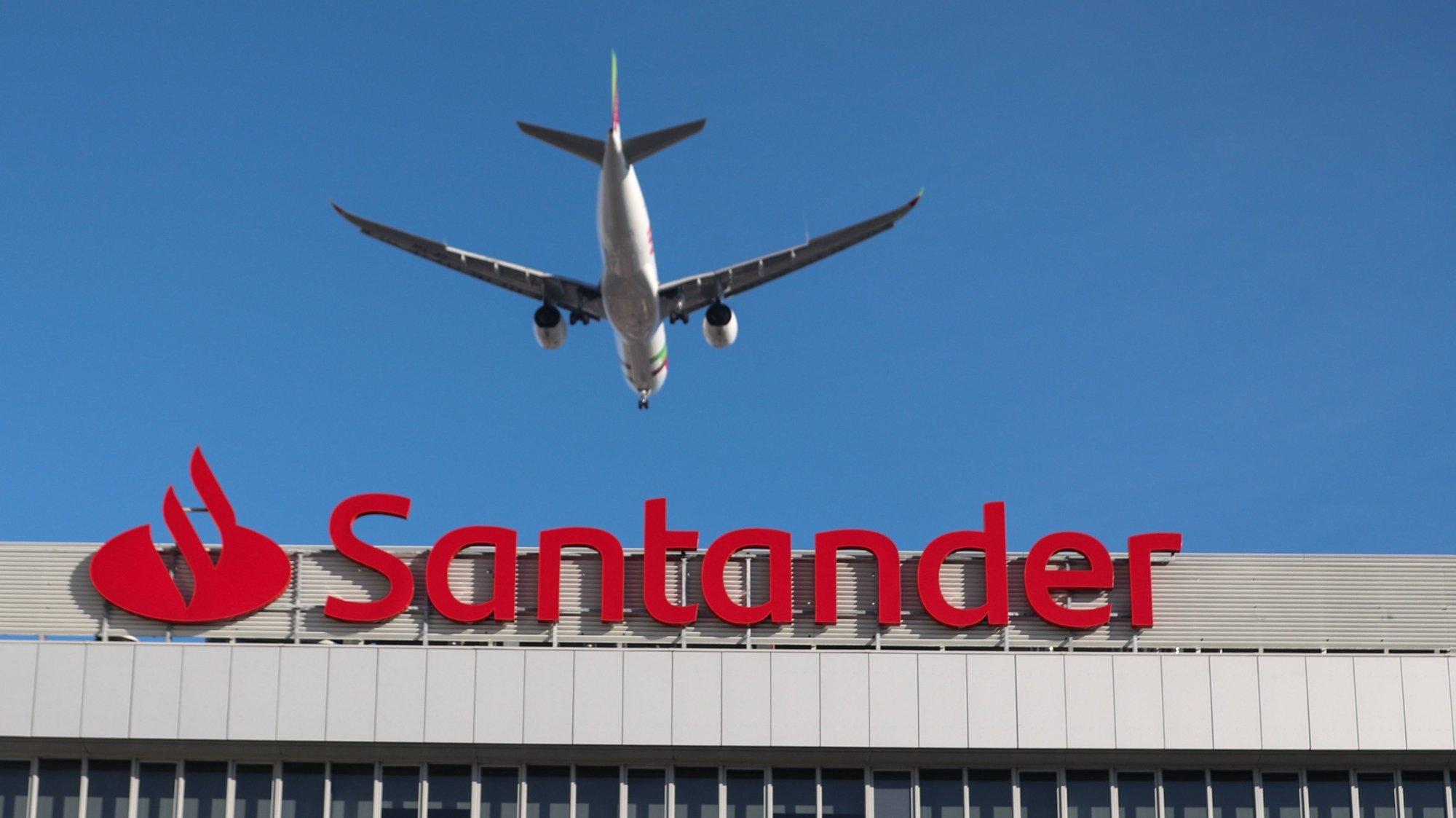 Banco Santander, Lisboa, 08 de janeiro de 2020. ANTÓNIO COTRIM/LUSA