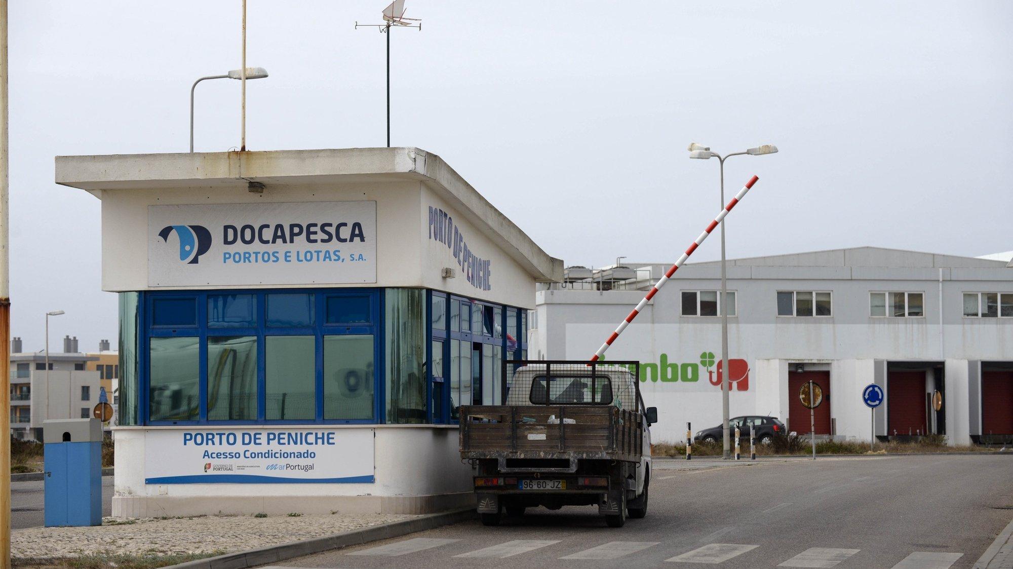 O porto e docapesca de Peniche, 19 de outubro de 2017. CARLOS BARROSO/LUSA