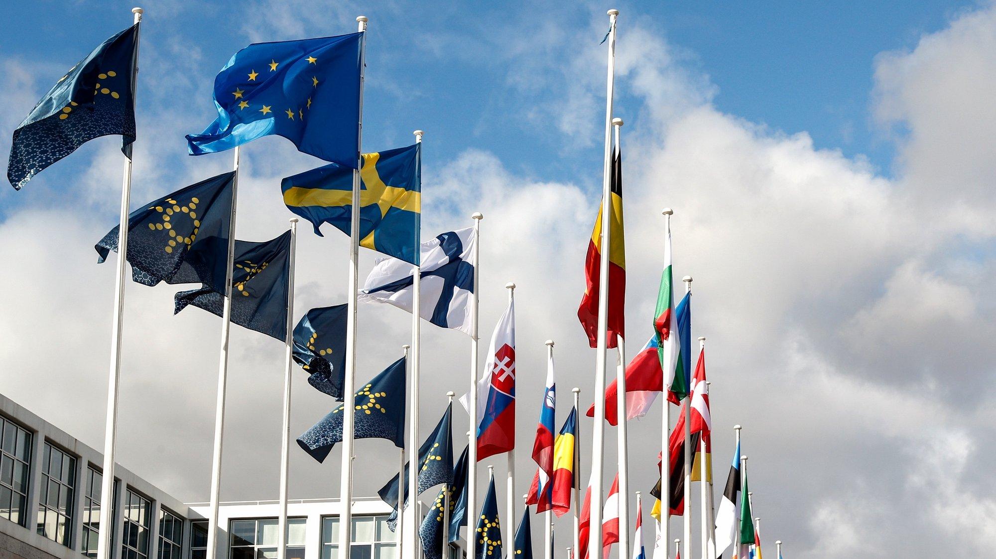 Preparativos para o início da Presidência Portuguesa do Conselho da União Europeia que irá decorrer de 01 de janeiro de 2021 a 30 de junho de 2021, Lisboa, 30 de dezembro de 2020. (ACOMPANHA TEXTO DE 01/01/2021) ANTÓNIO COTRIM/LUSA