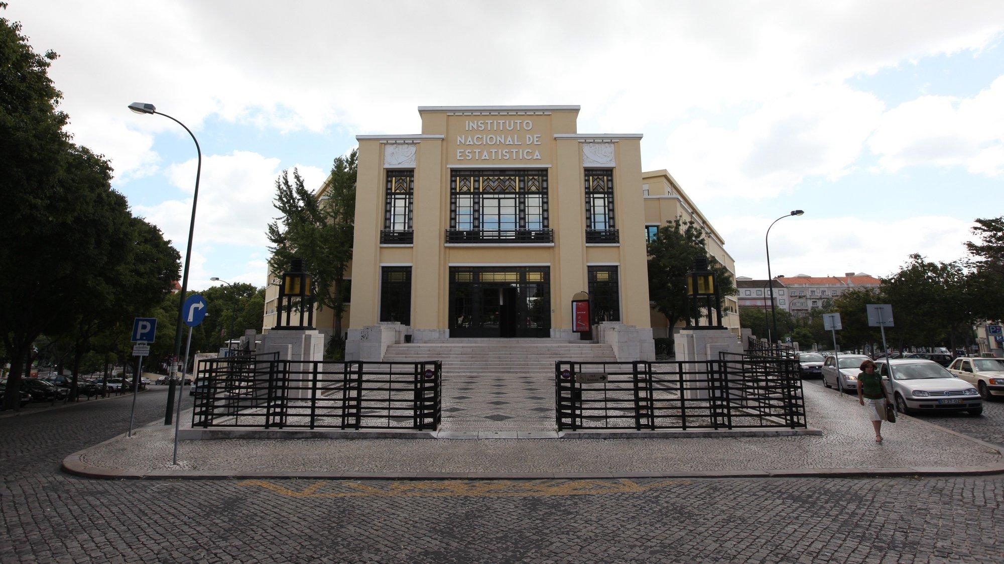 Instituto Nacional de Estatistica (INE) em Lisboa. 17 Julho 2009. MARIO CRUZ/LUSA