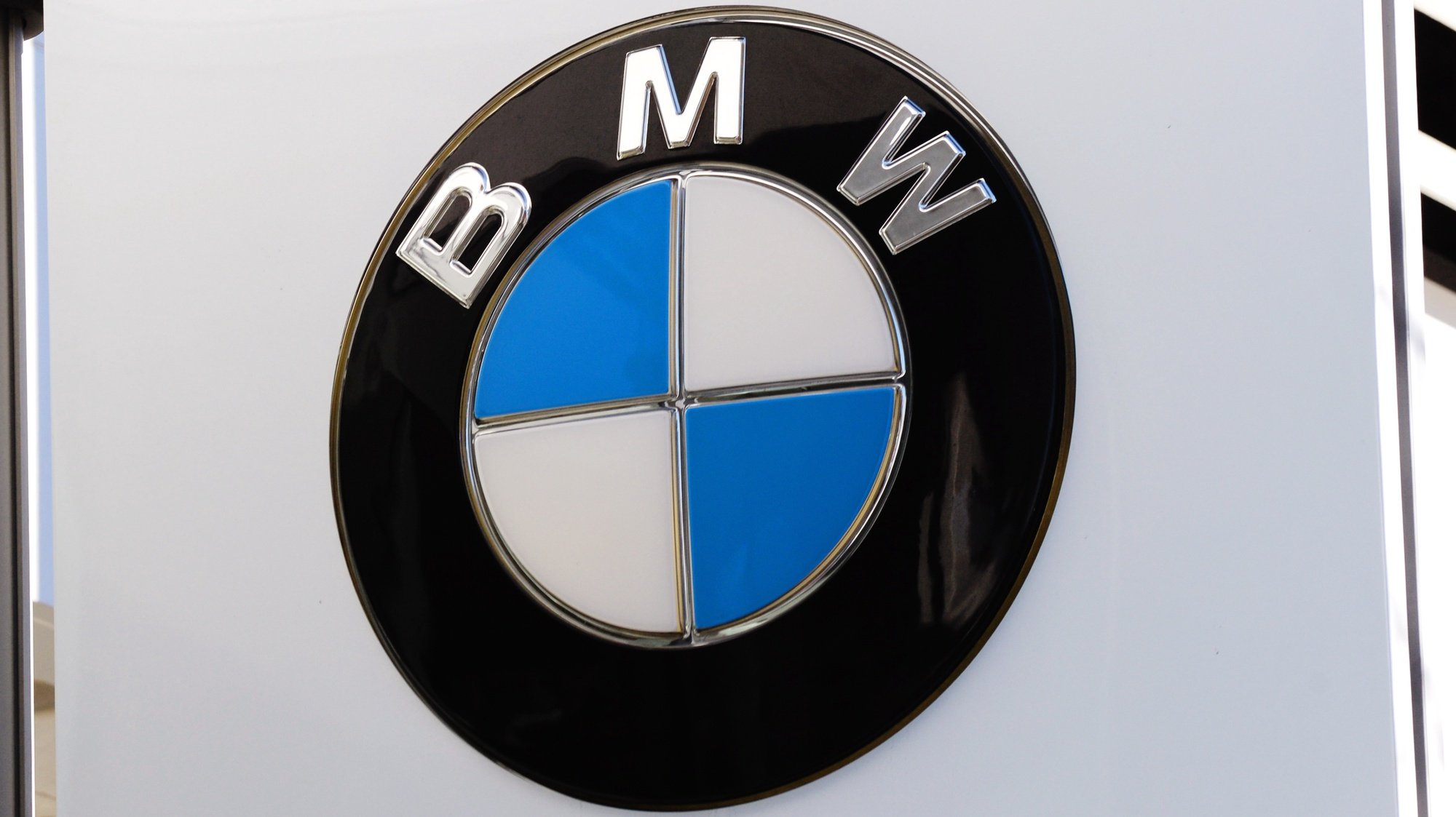 epa07486364 (FILE) - BMW company signage pictured in New York, New York, USA, 25 November 2013 (reissued 05 April 2019). Media reports on 05 April 2019 state the EU commission regulators in a statement have charged German carmakers Daimler, Volkswagen and BMW of collusion in the area of emissions cleaning technology by 'participating in a collusive scheme, in breach of EU competition rules, to limit the development and roll-out of emission-cleaning technology for new diesel and petrol passenger cars sold in the European Economic Area'.  EPA/PETER FOLEY