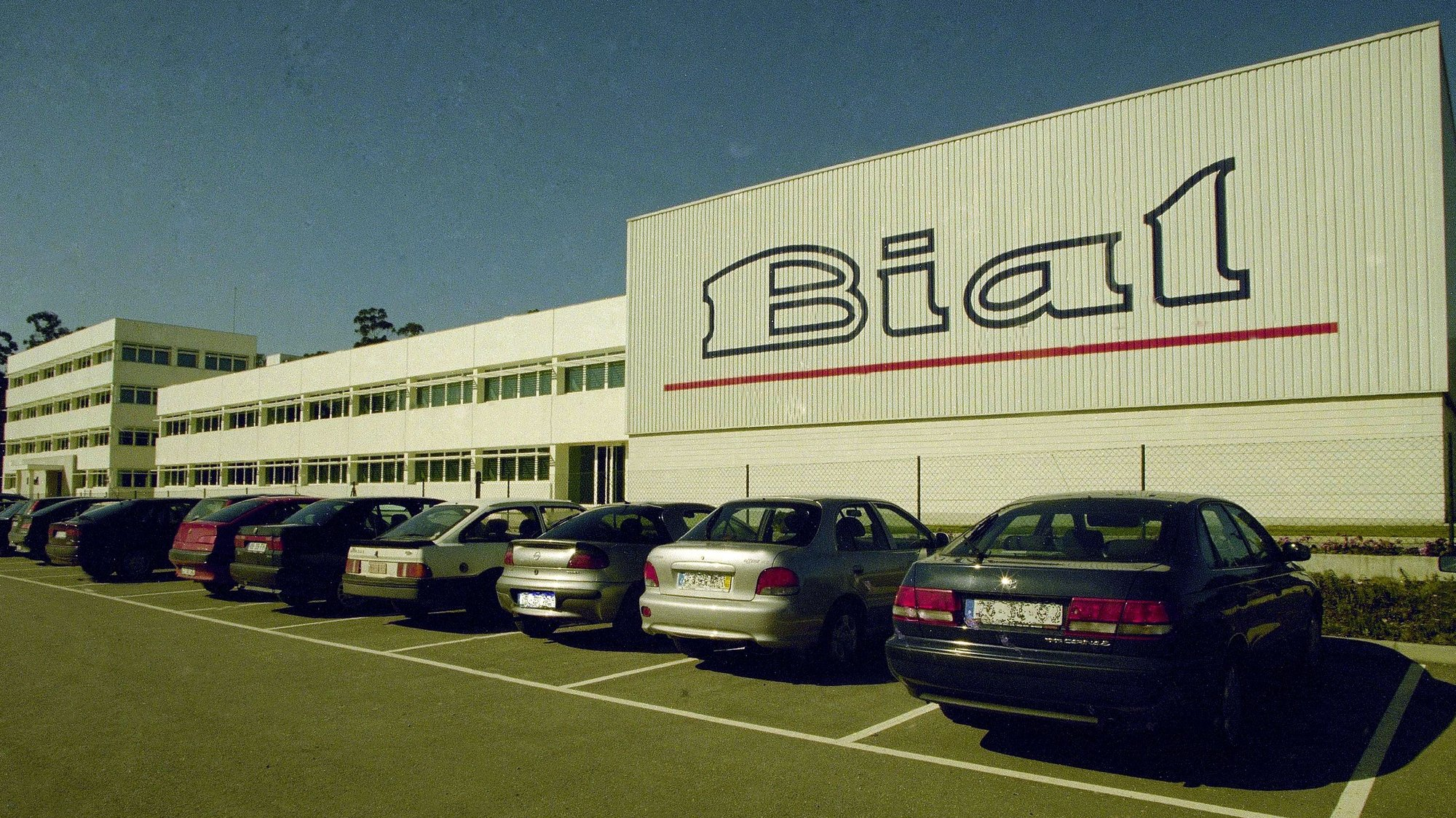Fachada do edificio dos Laboratórios da Bial, em São Mamede do Coronado, Trofa a 25 de fevereiro de 1999.  Francisco Neves / Lusa