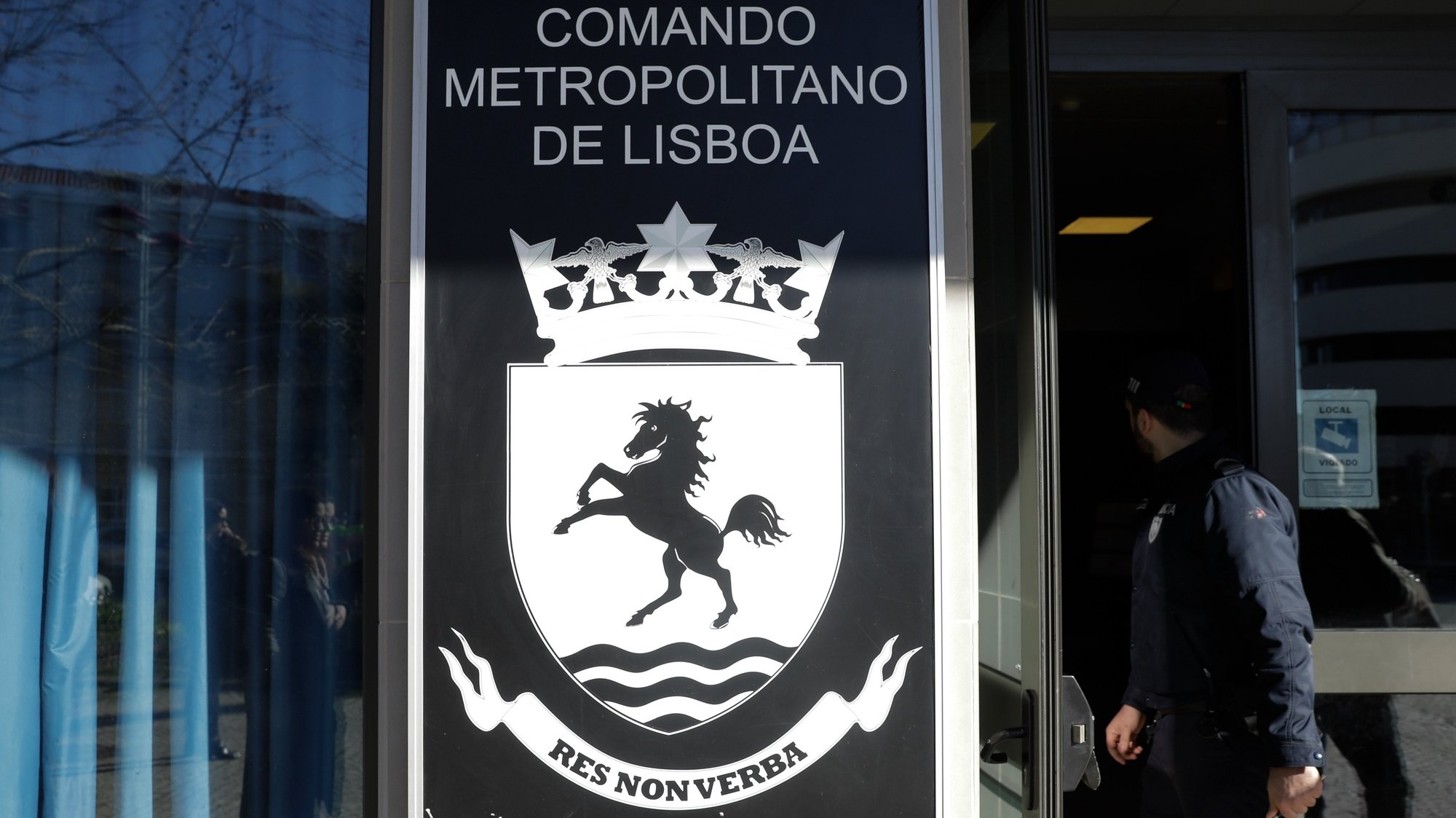 Comando Metropolitano da PSP de Lisboa, 12 de fevereiro de 2019. ANTÓNIO COTRIM/LUSA