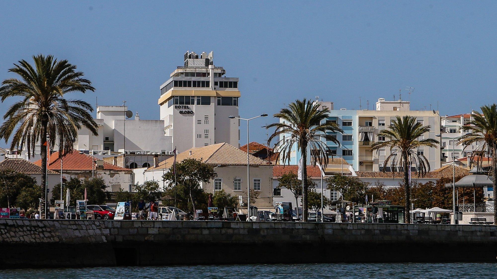 Vista de um barco da cidade de Portimão, 27 de setembro de 2017. LUÍS FORRA/LUSA