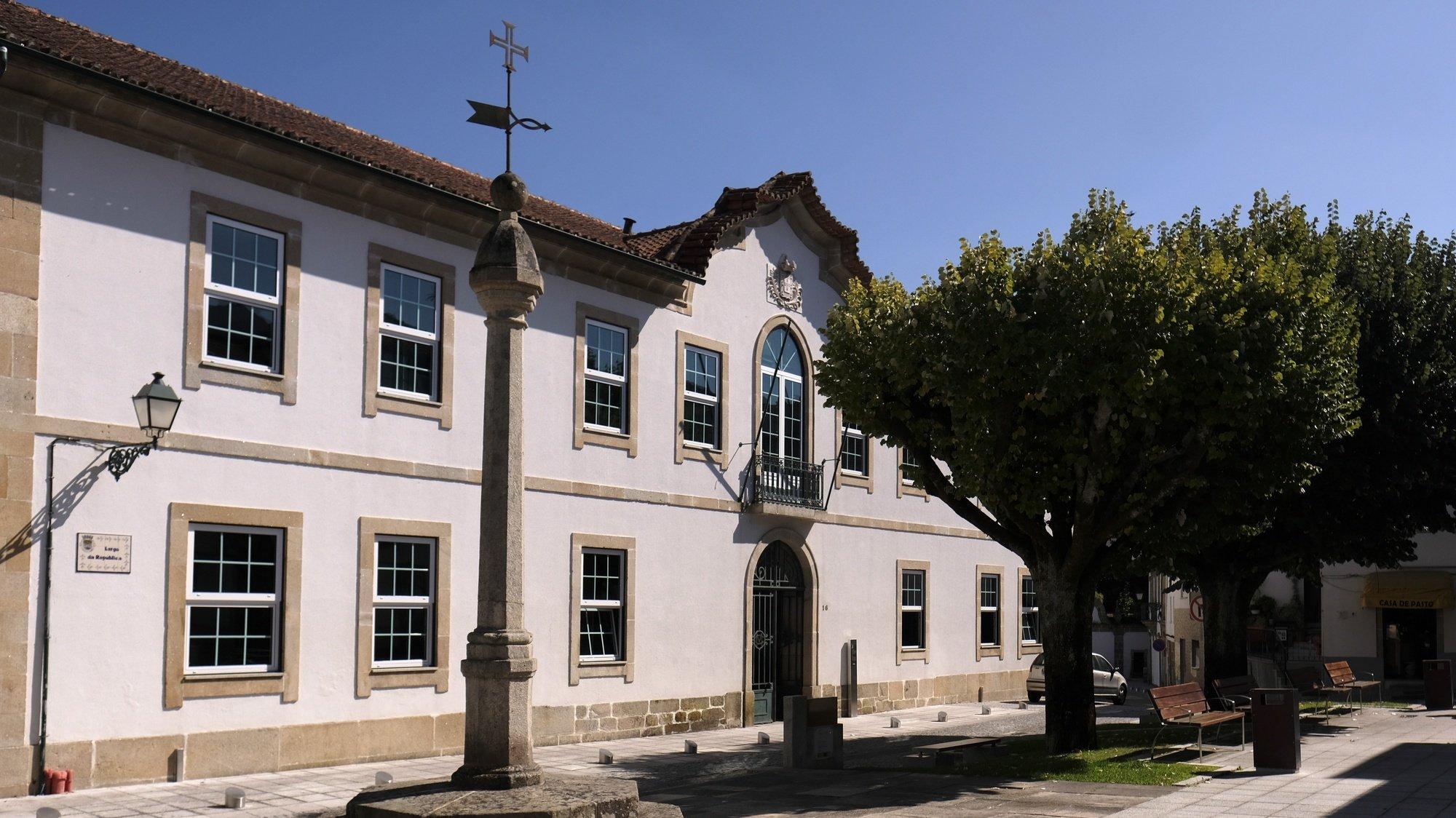 Edifício da Câmara Municipal de Tondela, 02 de Setembro de 2017.NUNO ANDRÉ FERREIRA / LUSA