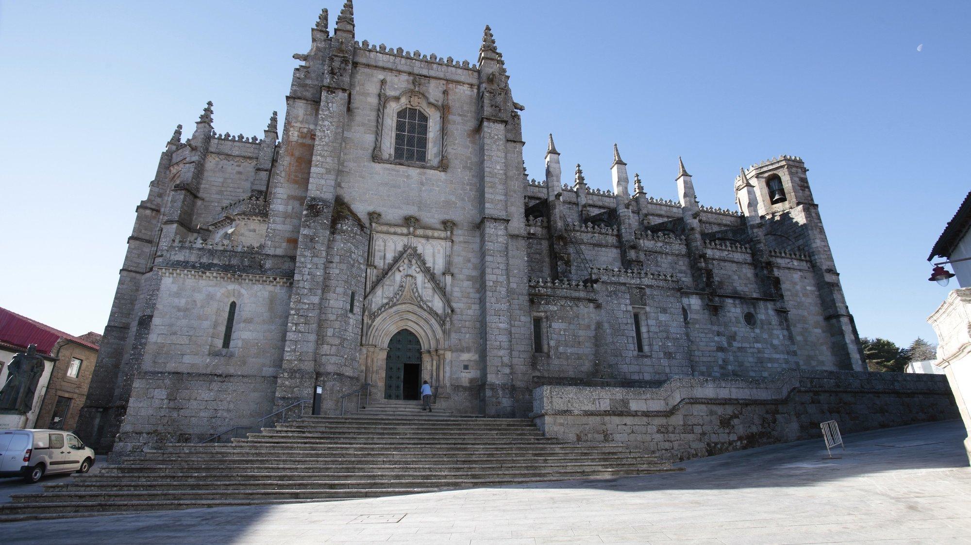 Sé da Guarda, 10 de novembro de 2017. A Sé-Catedral da Guarda foi erguida no seguimento do pedido de D. Sancho I ao Papa Inocêncio III para transferir a diocese de Egitânia para a nova cidade da Guarda. MIGUEL PEREIRA DA SILVA / LUSA