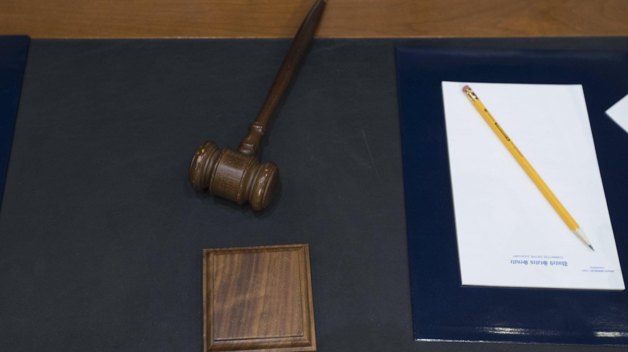 Foto genérica tribunal