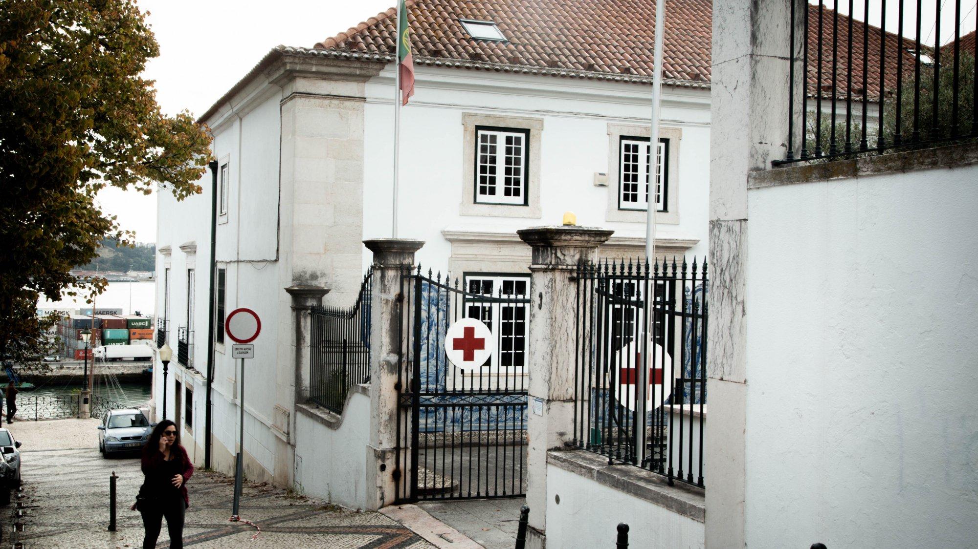Cruz Vermelha Portuguesa. Lisboa, 21 de Outubro de 2019. MELISSA VIEIRA/OBSERVADOR