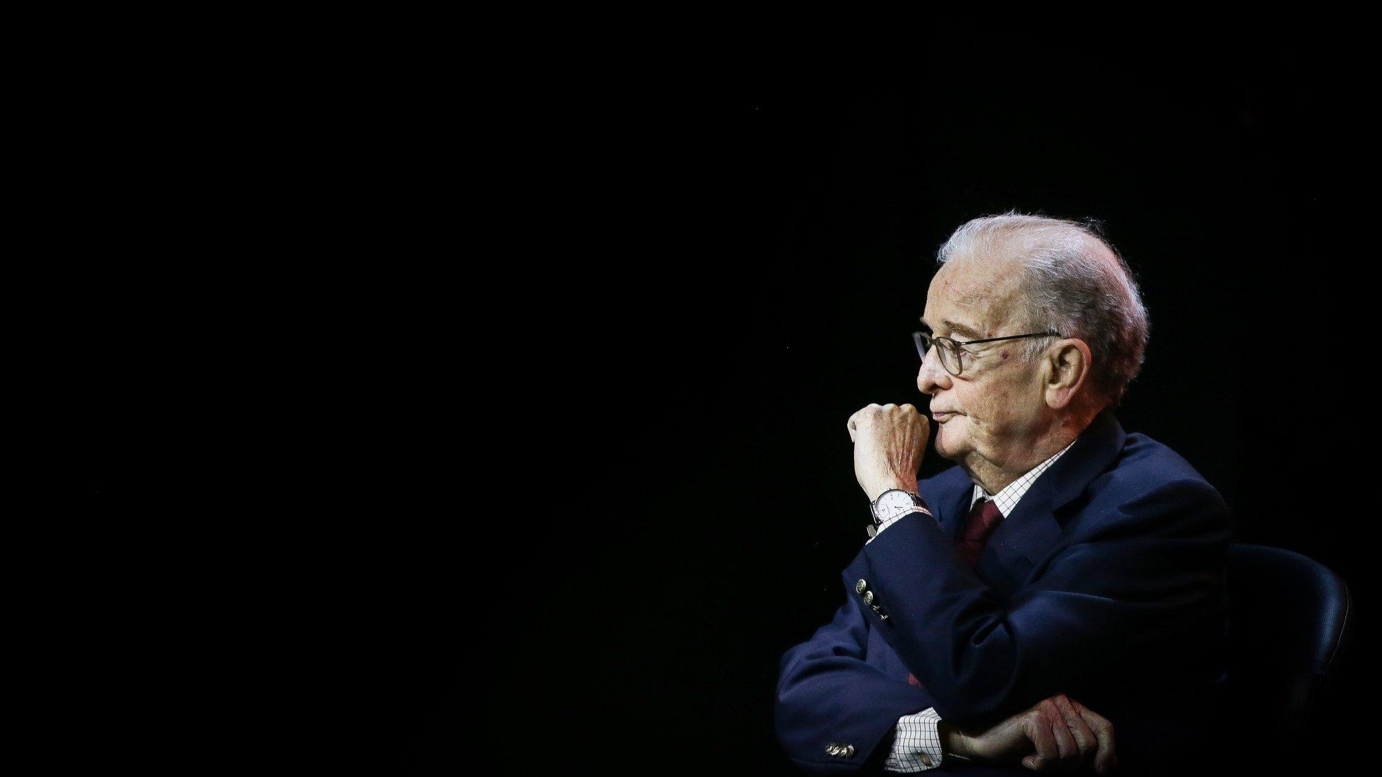 O antigo Presidente da República, Jorge Sampaio, participa na sessão evocativa dos 30 anos do Moderno Planeamento Estratégico de Lisboa que foi introduzido durante o seu primeiro mandato na Câmara Municipal de Lisboa, no Cineteatro Capitólio, em Lisboa, 27 de janeiro de 2020. MÁRIO CRUZ/LUSA
