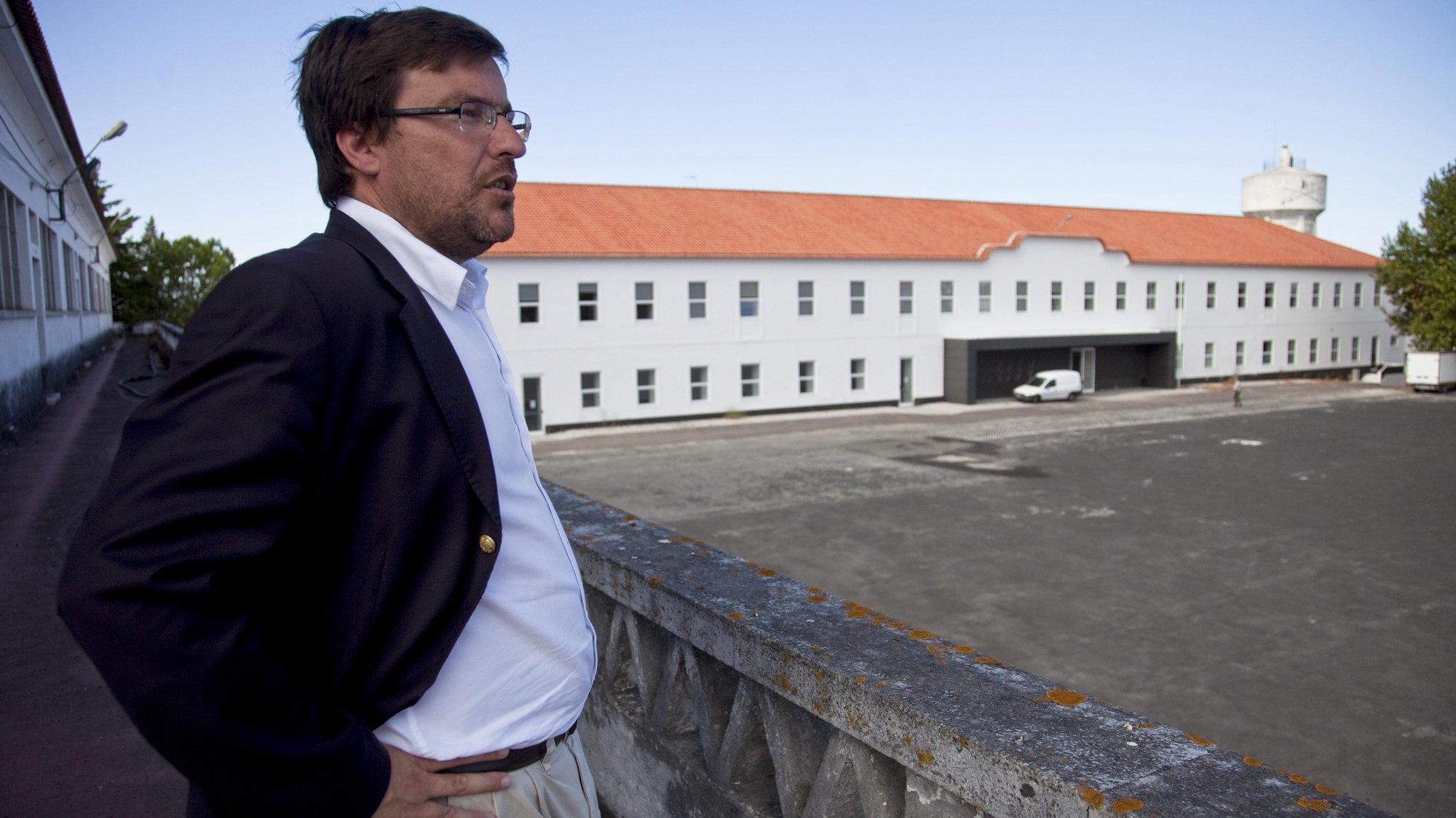 Presidente da câmara municipal de Santarém, Ricardo Gonçalves