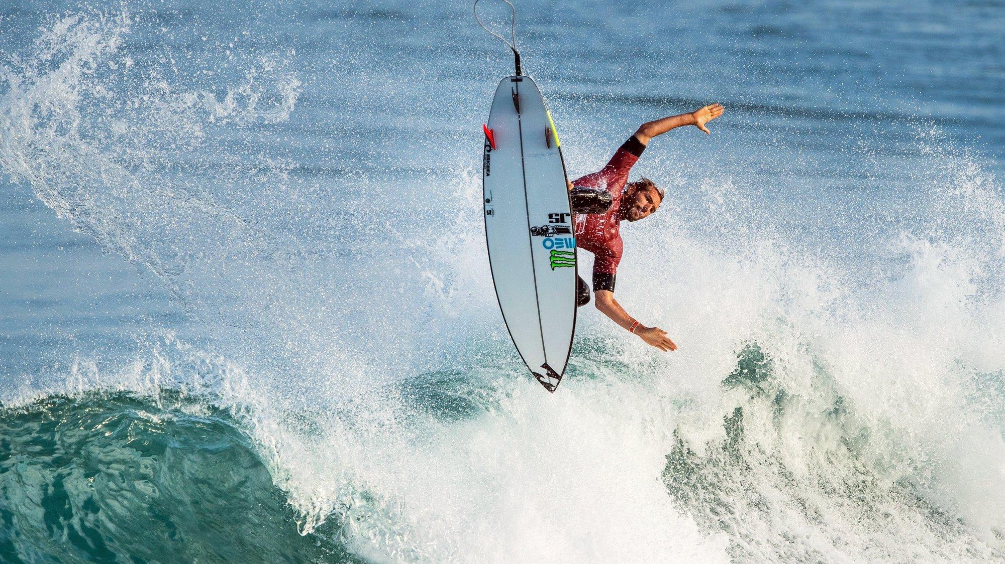 WSL: Surfista Português Frederico Morais na Challenger Series em França