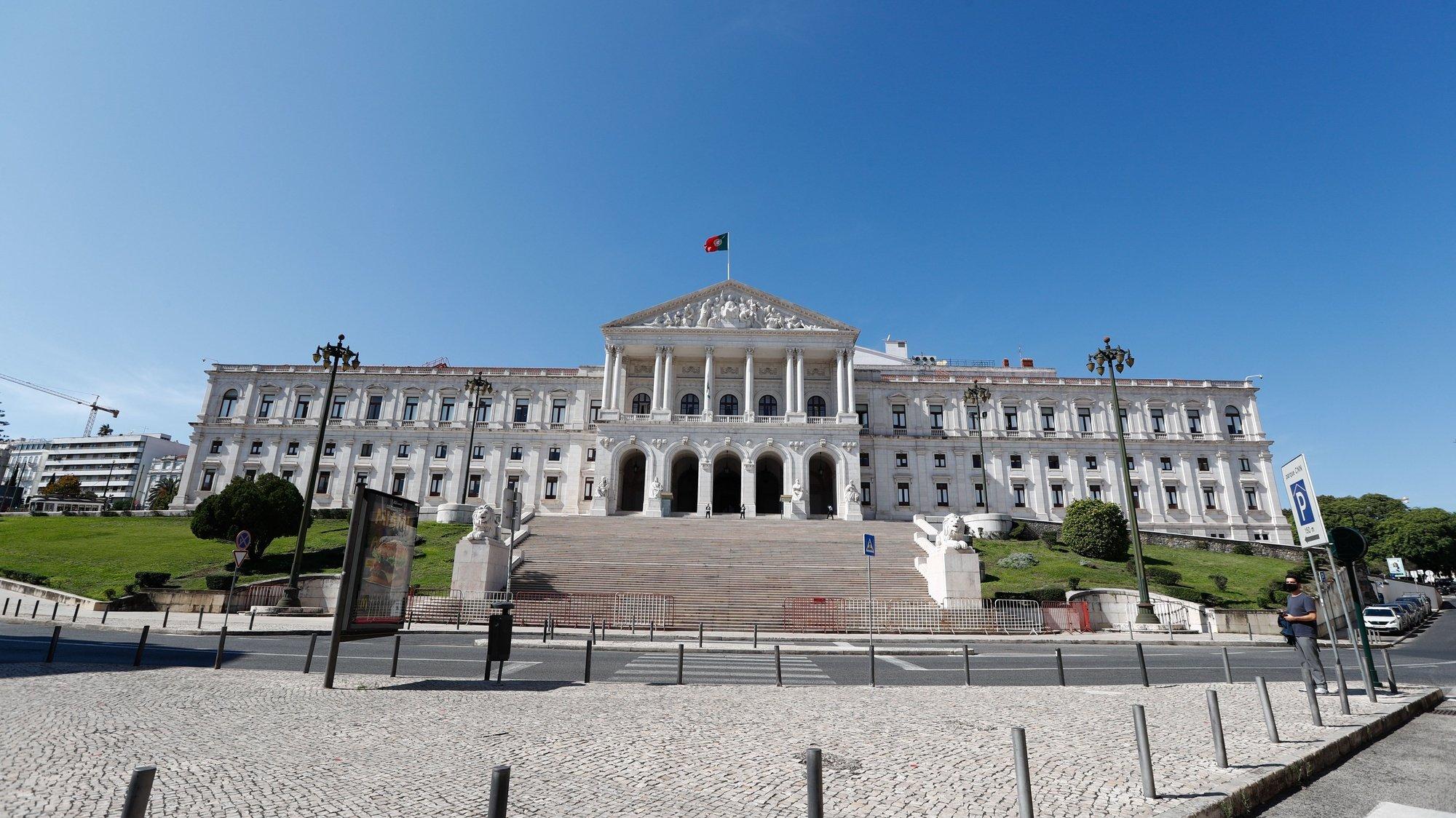 Fachada da Assembleia da República, Lisboa, 07 de outubro de 2020. ANTÓNIO COTRIM/LUSA