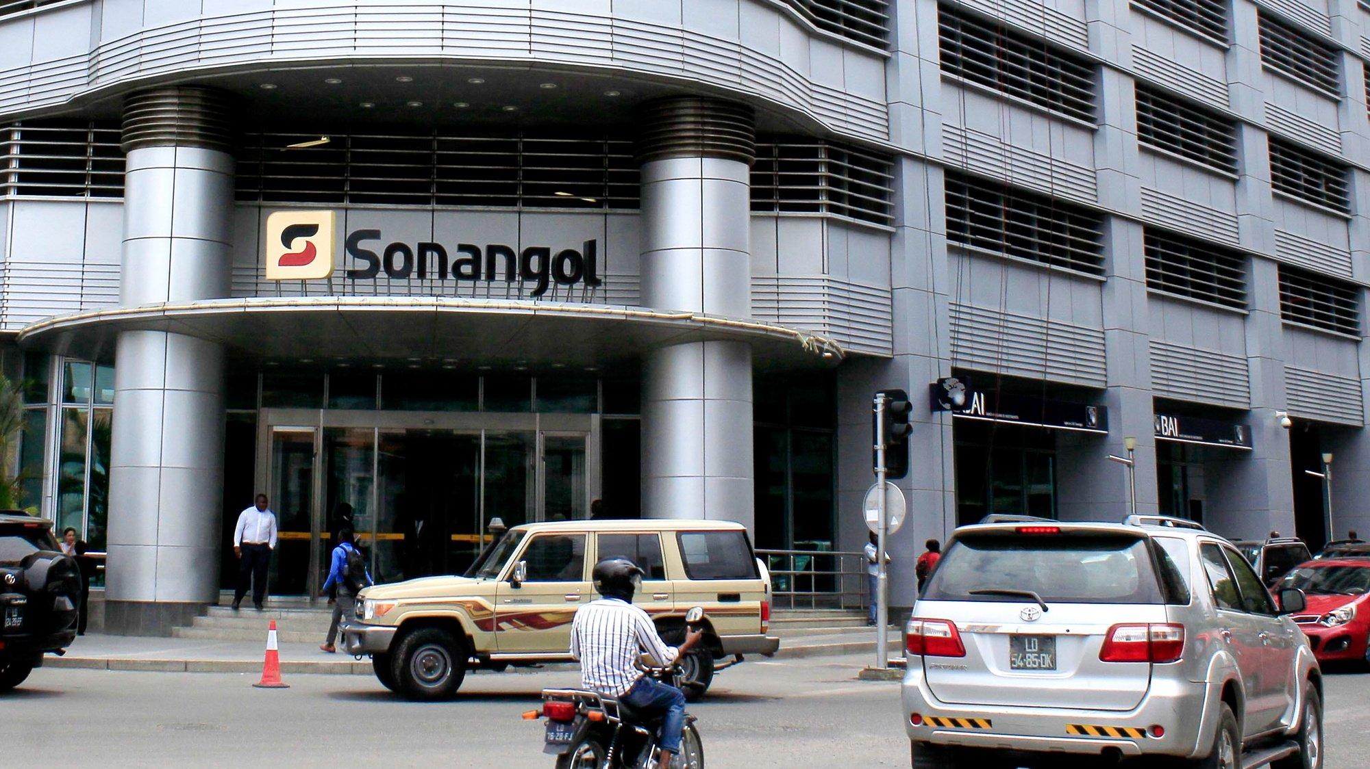 Sede da Sonangol em Luanda, Angola, 30 de outubro de 2018. AMPE ROGÉRIO/LUSA