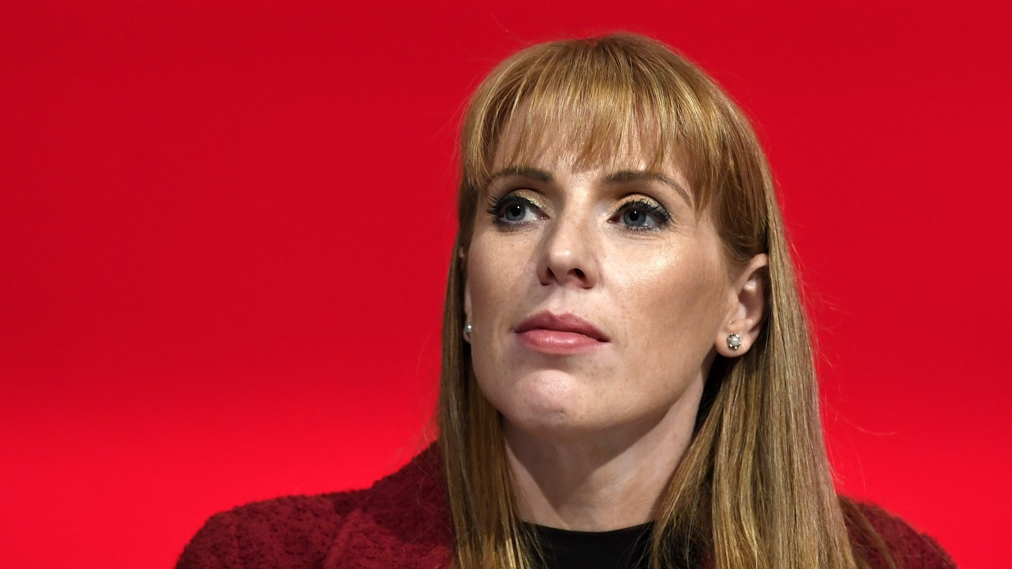 epa07043664 Shadow Education Secretary Angela Rayner attends at the Labour Party Conference in Liverpool, Britain, 24 September 2018. The annual Labour Party Conference which will run from 23 September until Wednesday 26 September.  EPA/WILL OLIVER