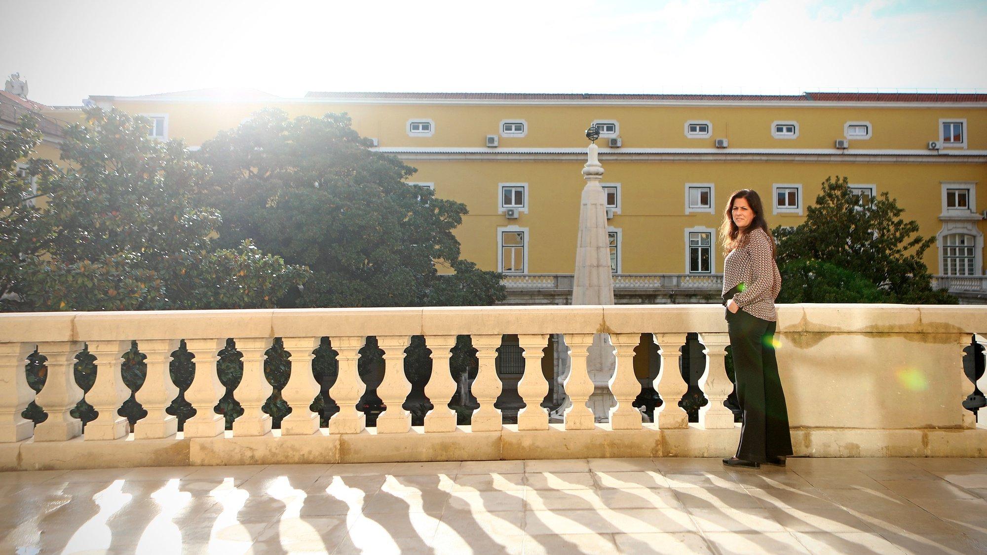 Entrevista à Secretária de Estado do Orçamento, Cláudia Joaquim, no Ministério das Finanças, em Lisboa, 06 de novembro de 2020.  (ACOMPANHA TEXTO DO DIA 10 NOVEMBRO 2020).  ANTÓNIO PEDRO SANTOS/LUSA