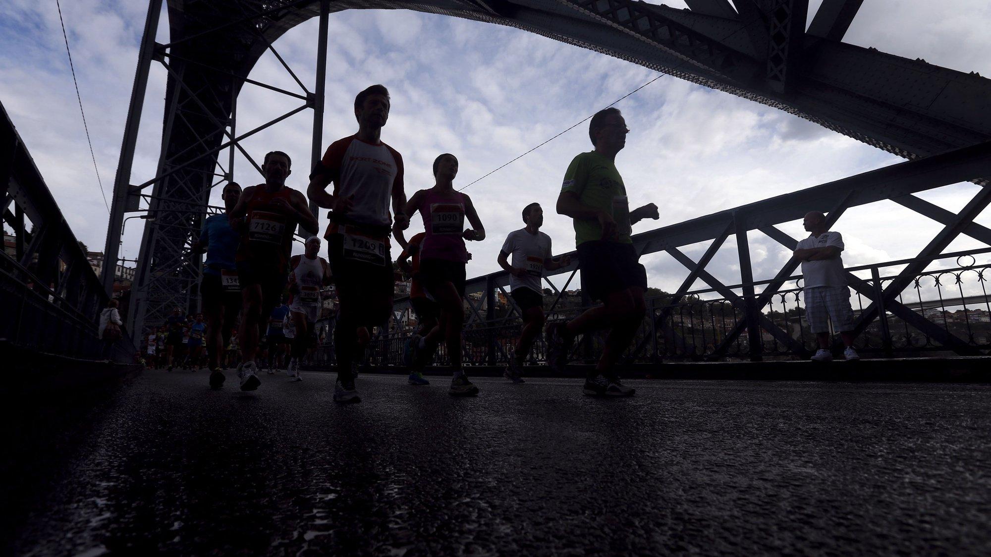 Atletas participam na 8ª edição da Meia Maratona do Porto, 14 de setembro de 2014.  JOSÉ COELHO/LUSA