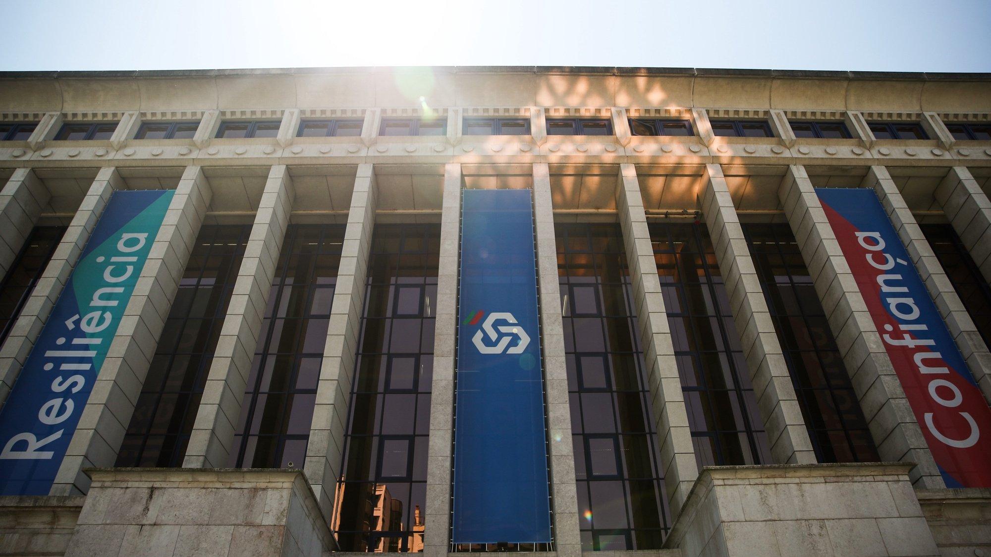 Sede da Caixa Geral de Depósitos (CGD), em Lisboa, 9 de agosto de 2021. MÁRIO CRUZ/LUSA