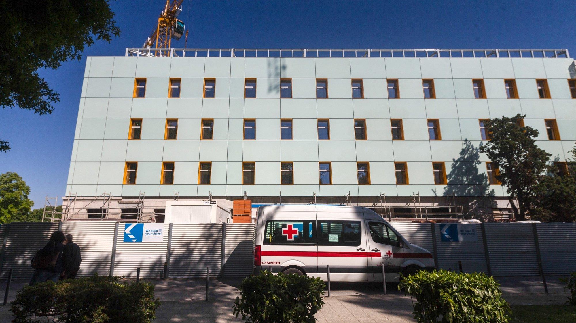 A nova ala pediátrica do Centro Hospitalar Universitário de São João, no Porto