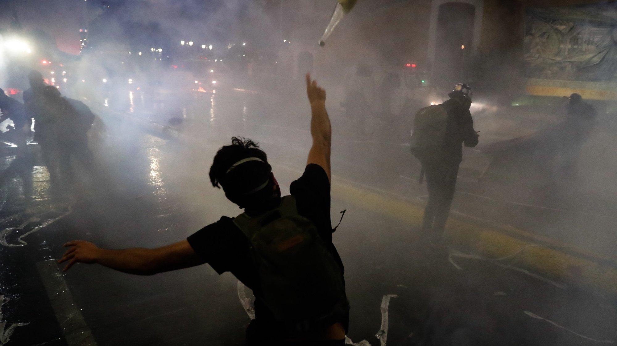 Protestos no Chile