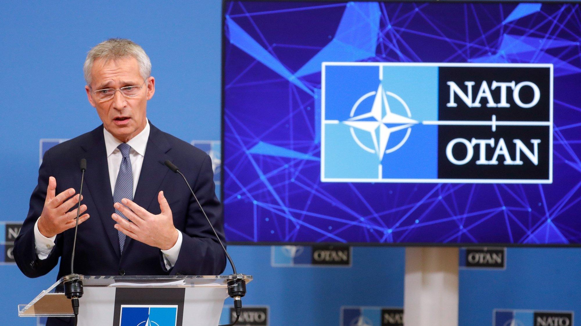 Secretário geral da NATO Jens Stoltenberg