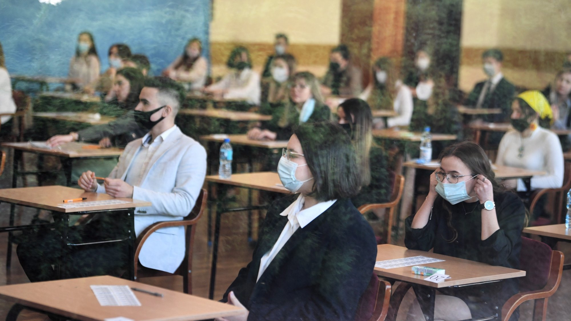 Exames finais de graduação do secundário, em Rzeszow, Polónia