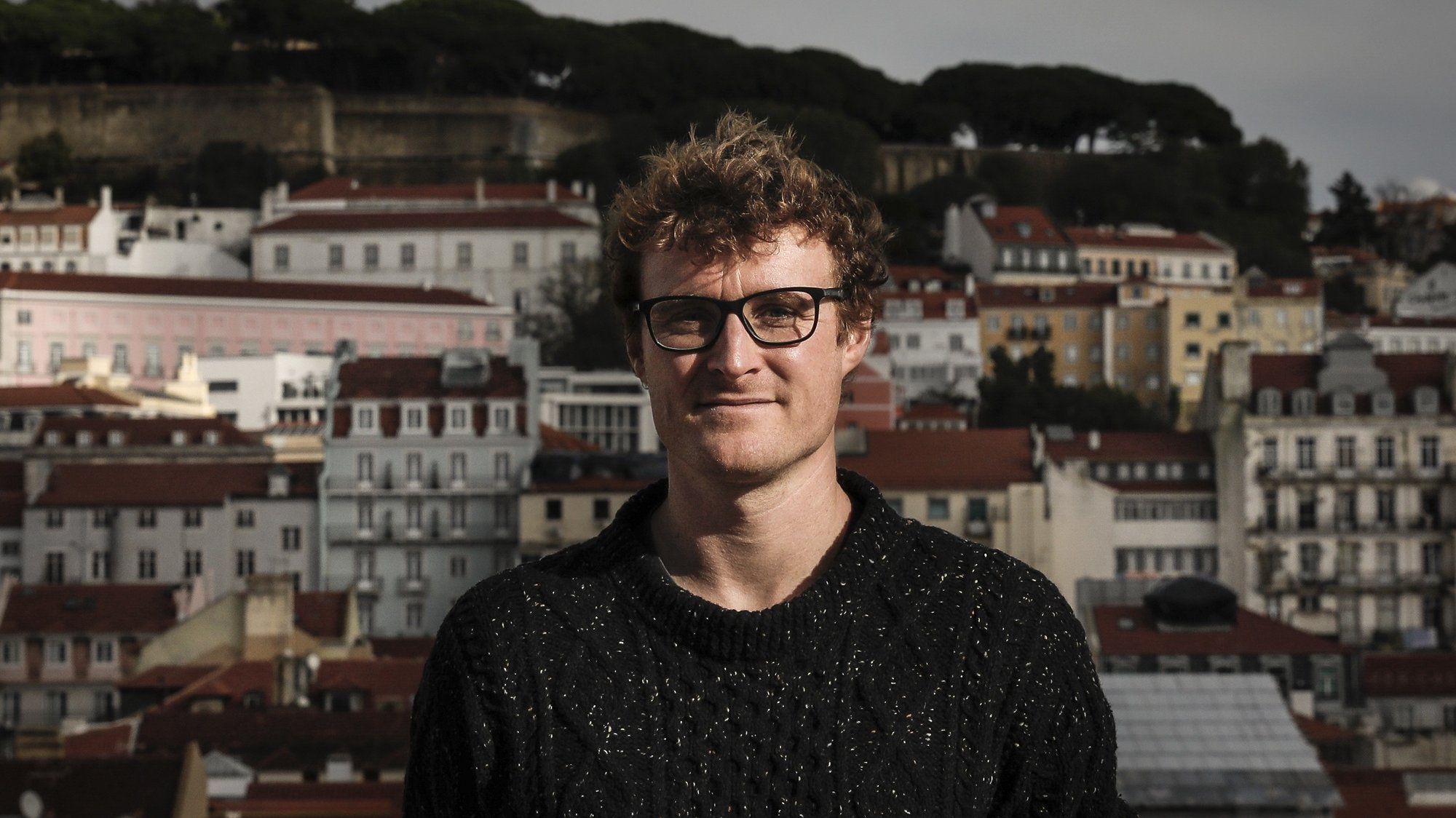 O co-fundador da Web Summit, Paddy Cosgrave, durante uma entrevista à Agência Lusa, em Lisboa, 26 de novembro de 2020. (ACOMPANHA TEXTO DE 27/11/2020) RODRIGO ANTUNES/LUSA