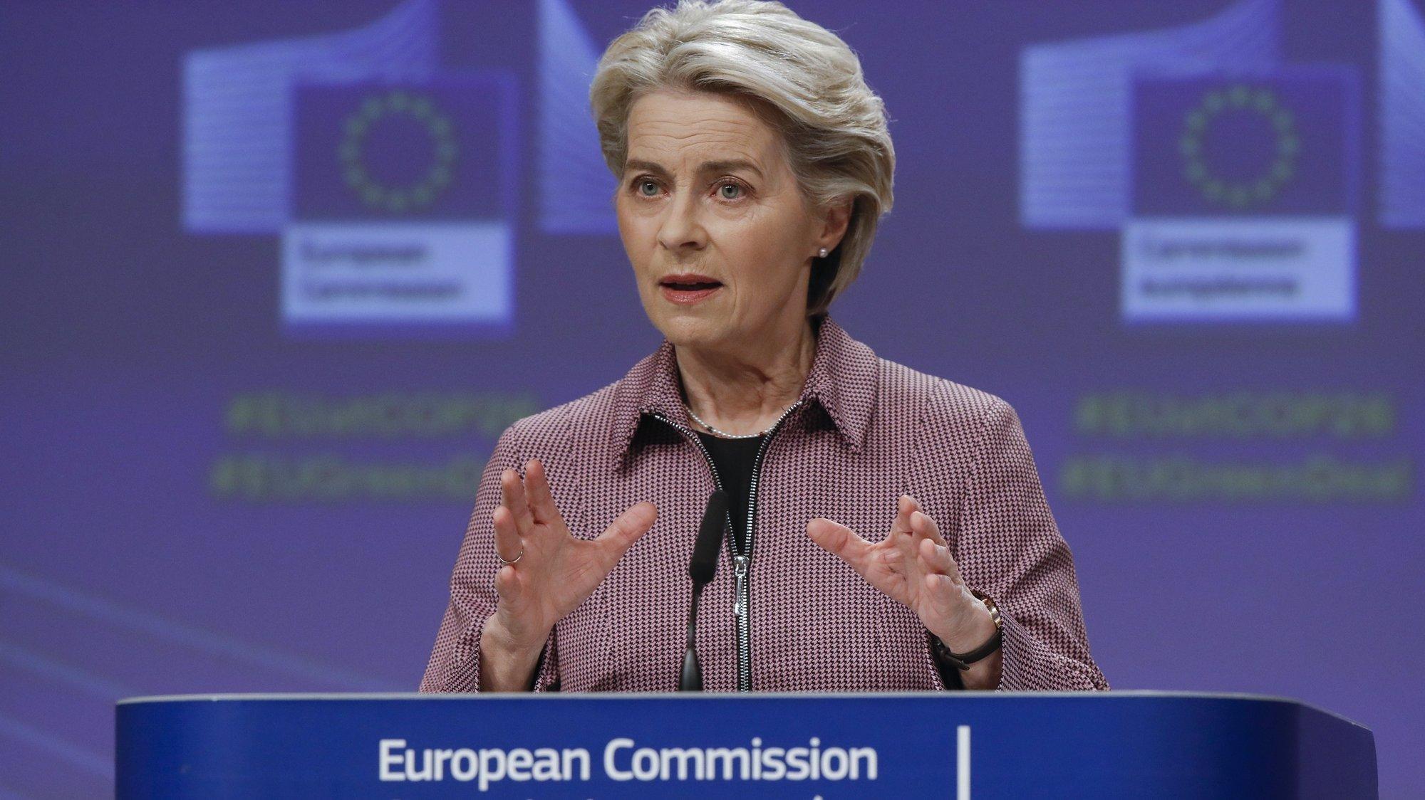 European Commission President von der Leyen