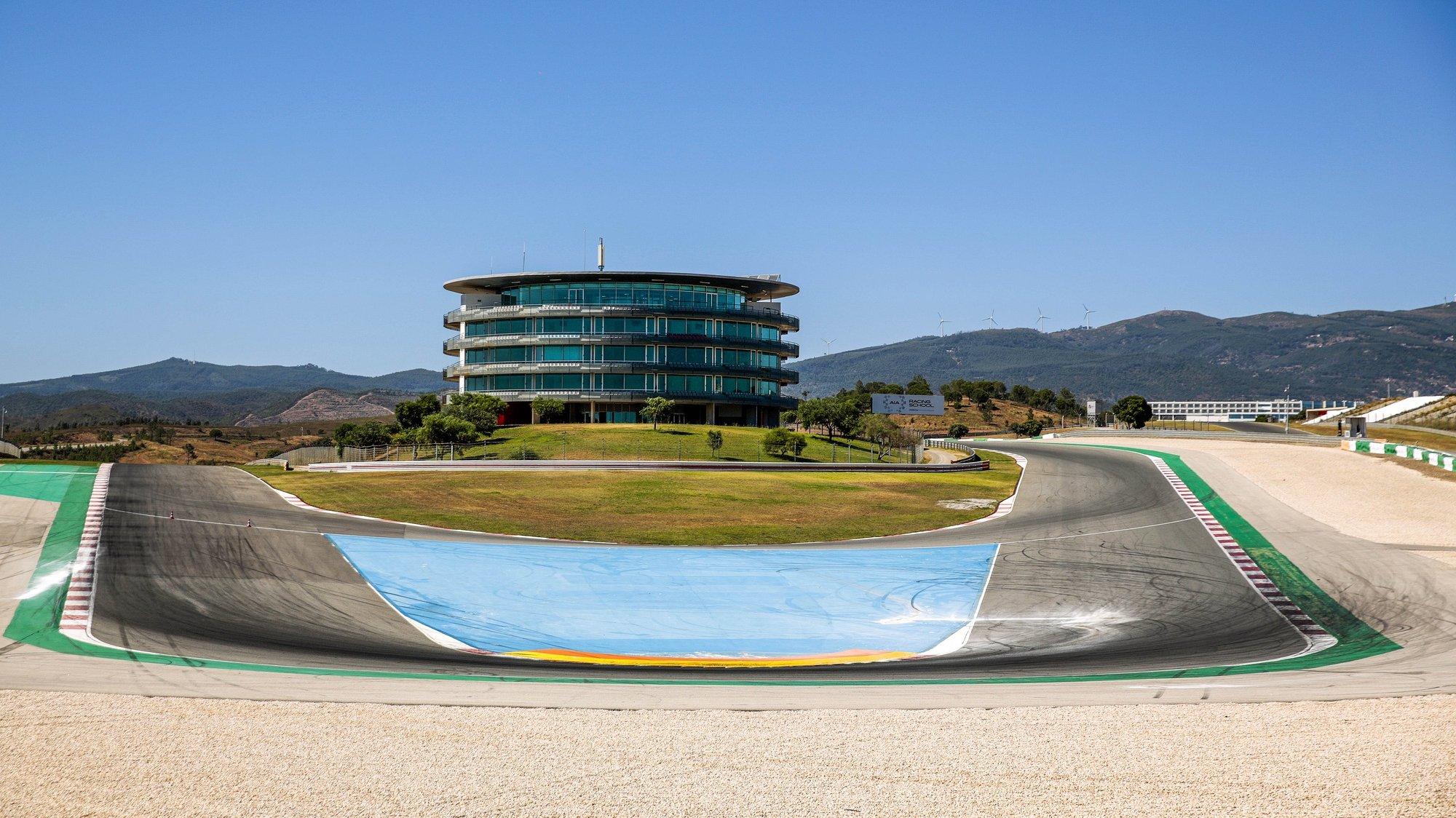 Vista da pista do Autódromo Internacional do Algarve (AIA), em Portimão, 24 de julho 2020. FILIPE FARINHA / LUSA