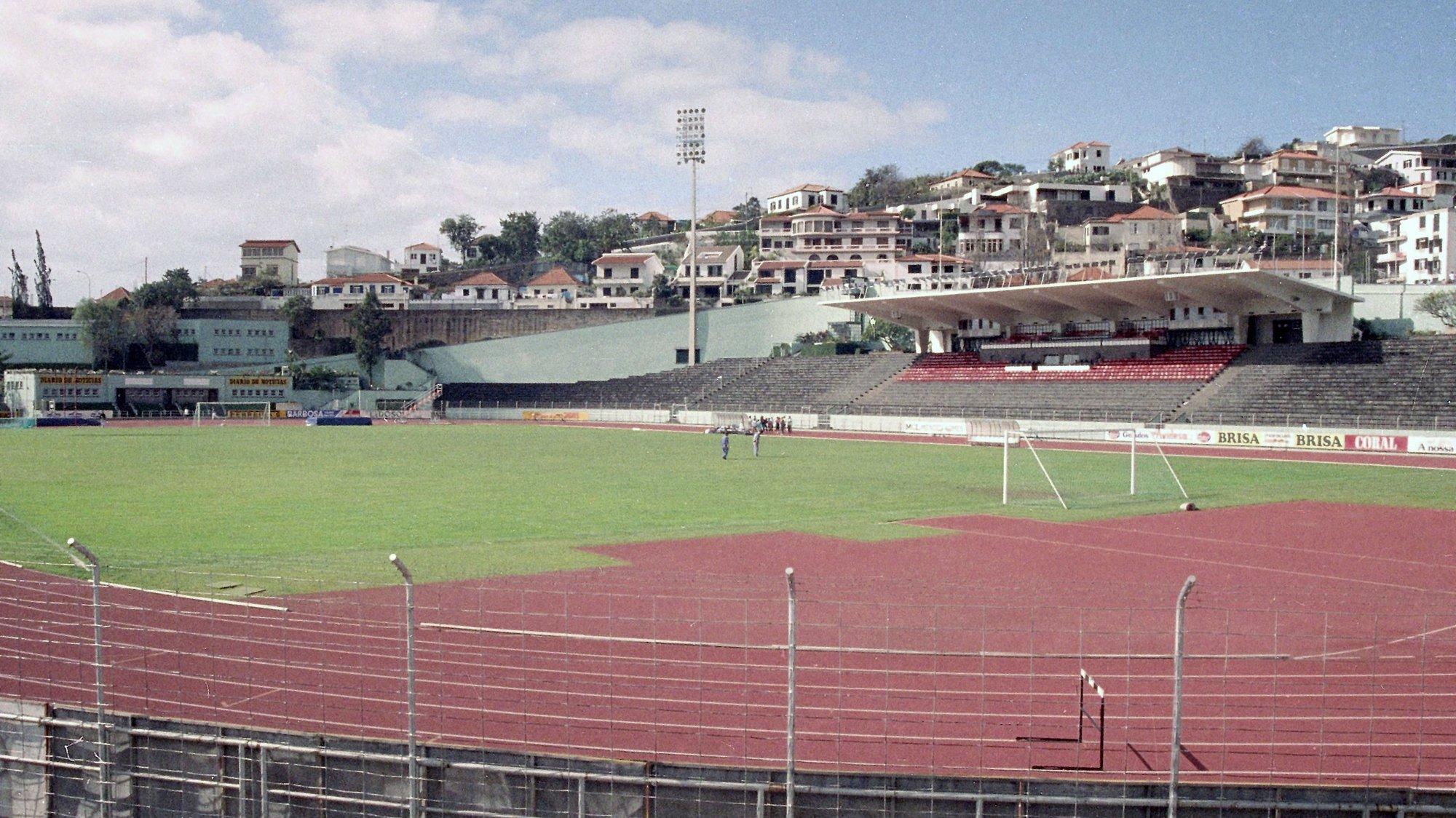 Vista geral do Estádio dos Barreiros no Funchal, a 29 de Abril de 1991.HOMEM GOUVEIA / LUSA