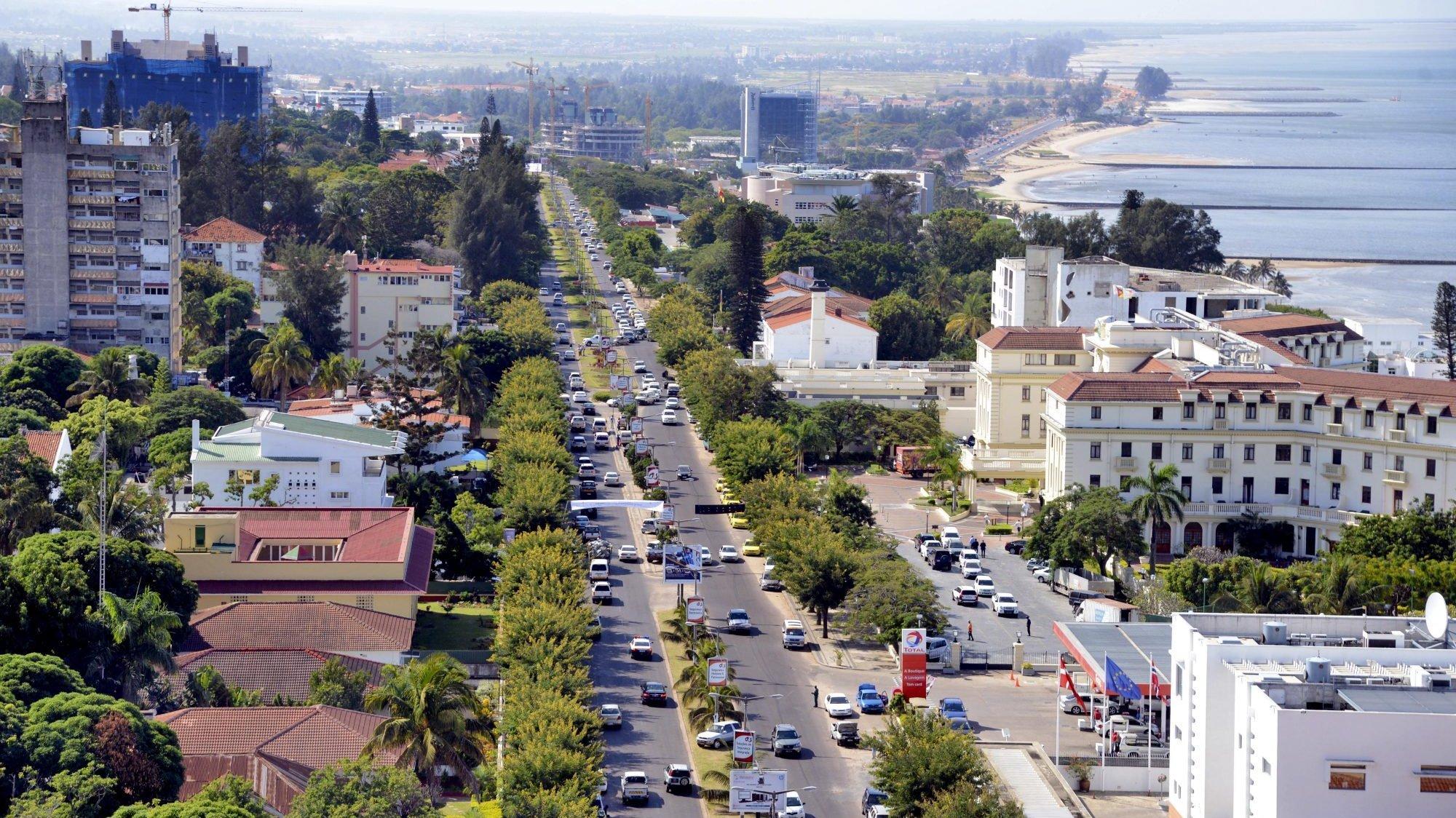Vistas da cidade de Maputo