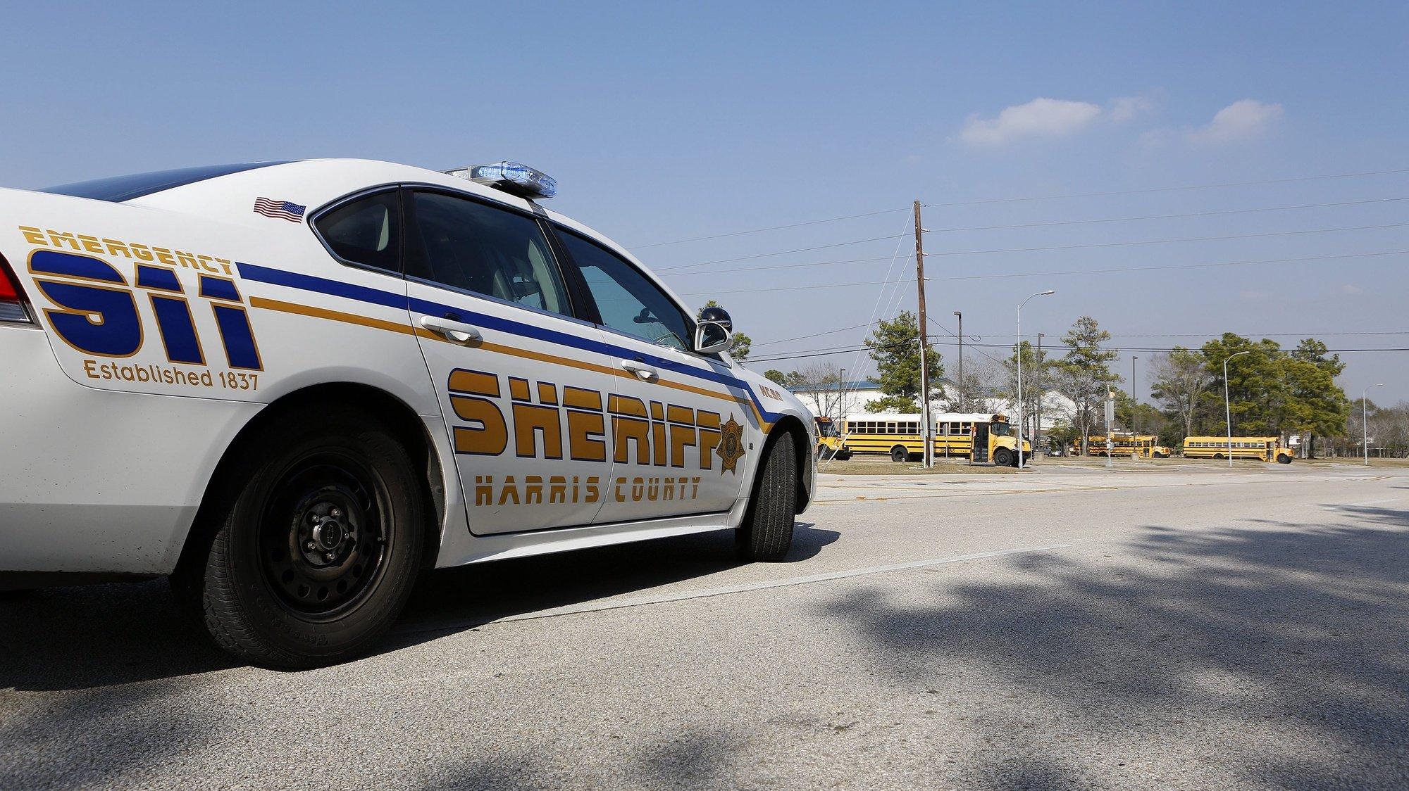 Carro de patrulha da polícia em Houston, Texas, EUA, 22 de janeiro de 2013. EPA/AARON M. SPRECHER