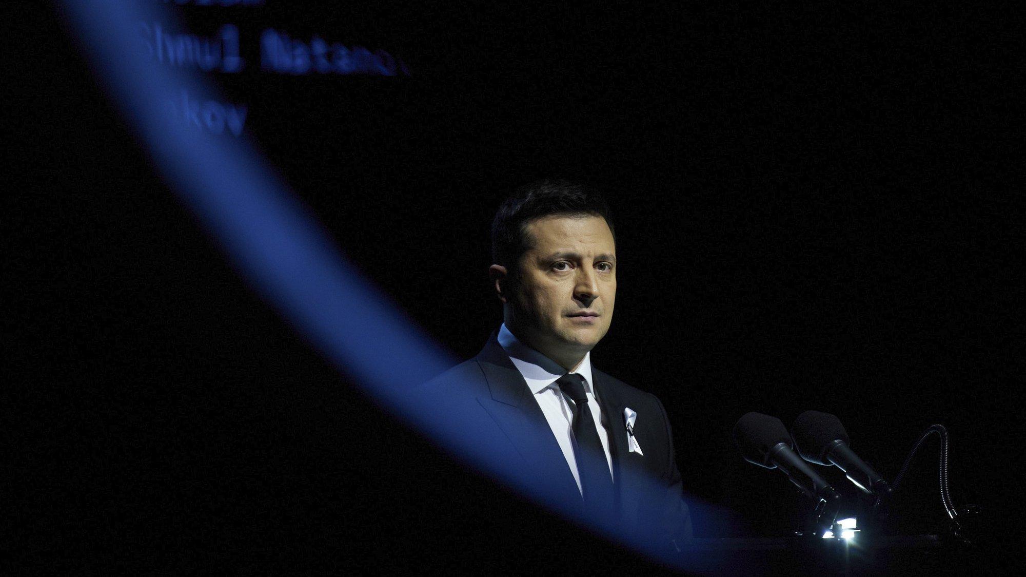 Presidente da Ucrânia Volodymyr Zelensky