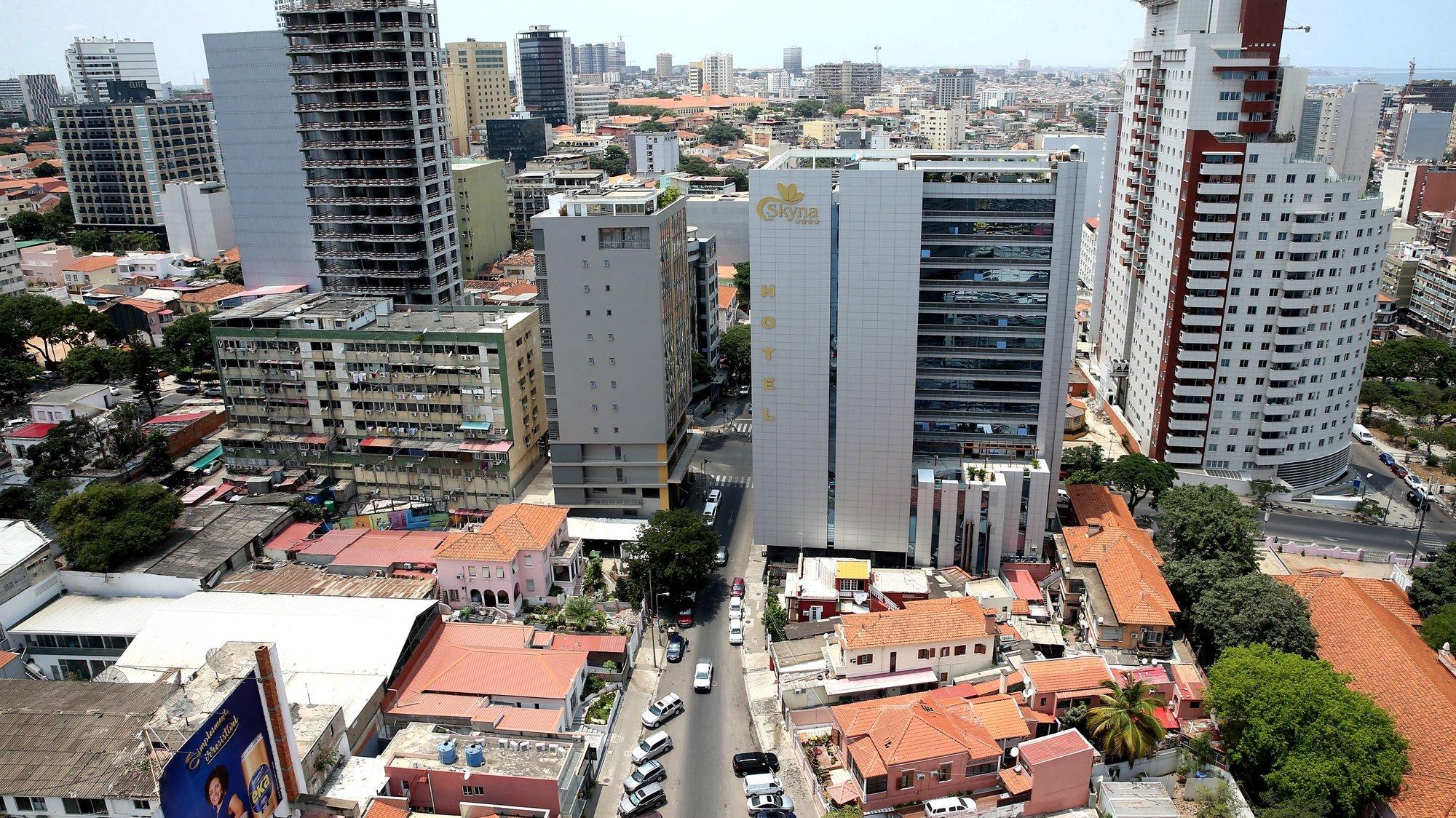 Cidade de Luanda, em Angola, 15 de fevereiro de 2021. AMPE ROGÉRIO/LUSA