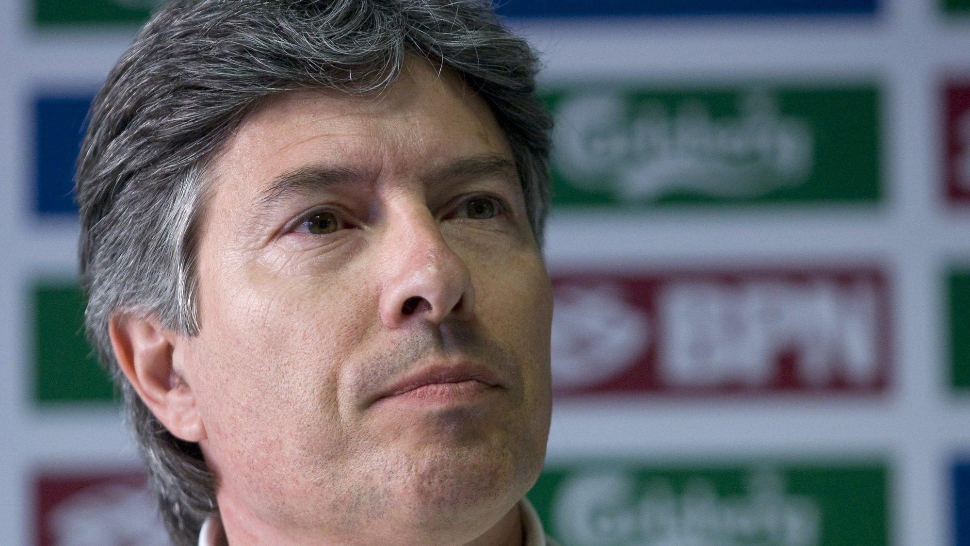 Vitor Pereira, presidente da Comissão de Arbitragem da Liga de Futebol, Faro, 20 Março de 2009.  ANTÓNIO COTRIM/LUSA
