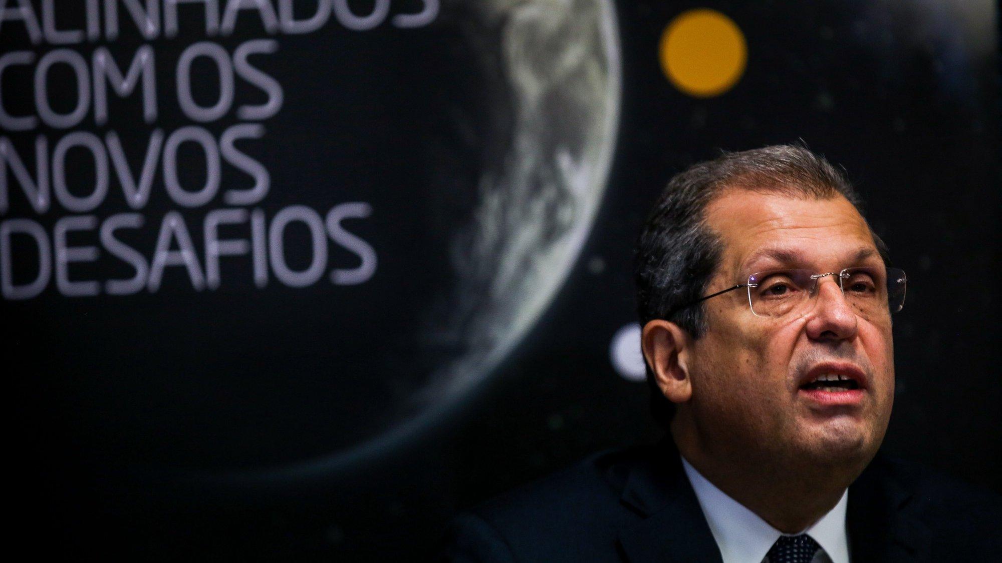 O presidente da ANACOM, João Cadete de Matos, durante a conferência de imprensa para a apresentação do regulamento do leilão do 5G, em Lisboa, 05 de novembro de 2020. NUNO FOX/LUSA