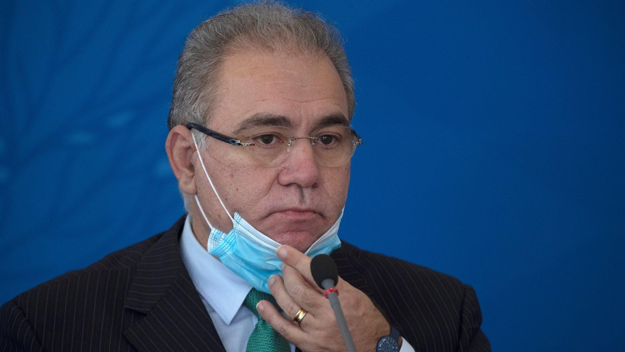 Marcelo Queiroga, ministro da Saúde do Brasil