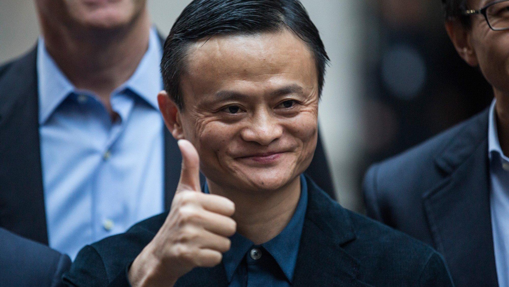 Jack Ma reapareceu em Espanha