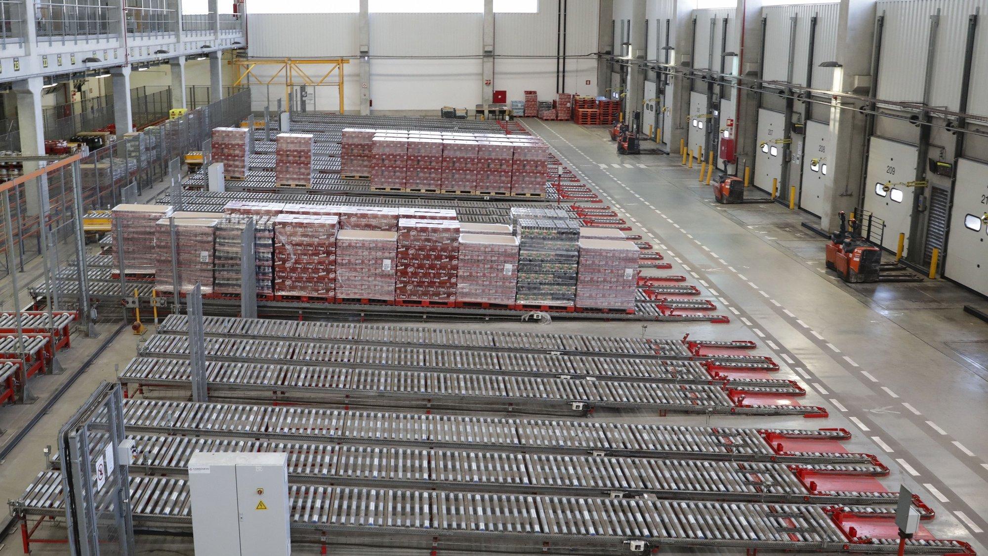 Linha de produção da Super Bock a propósito da cerimónia Comemorativa dos 90 Anos da Unicer, Matosinhos, 10 de novembro de 2017.JOSÉ COELHO/LUSA
