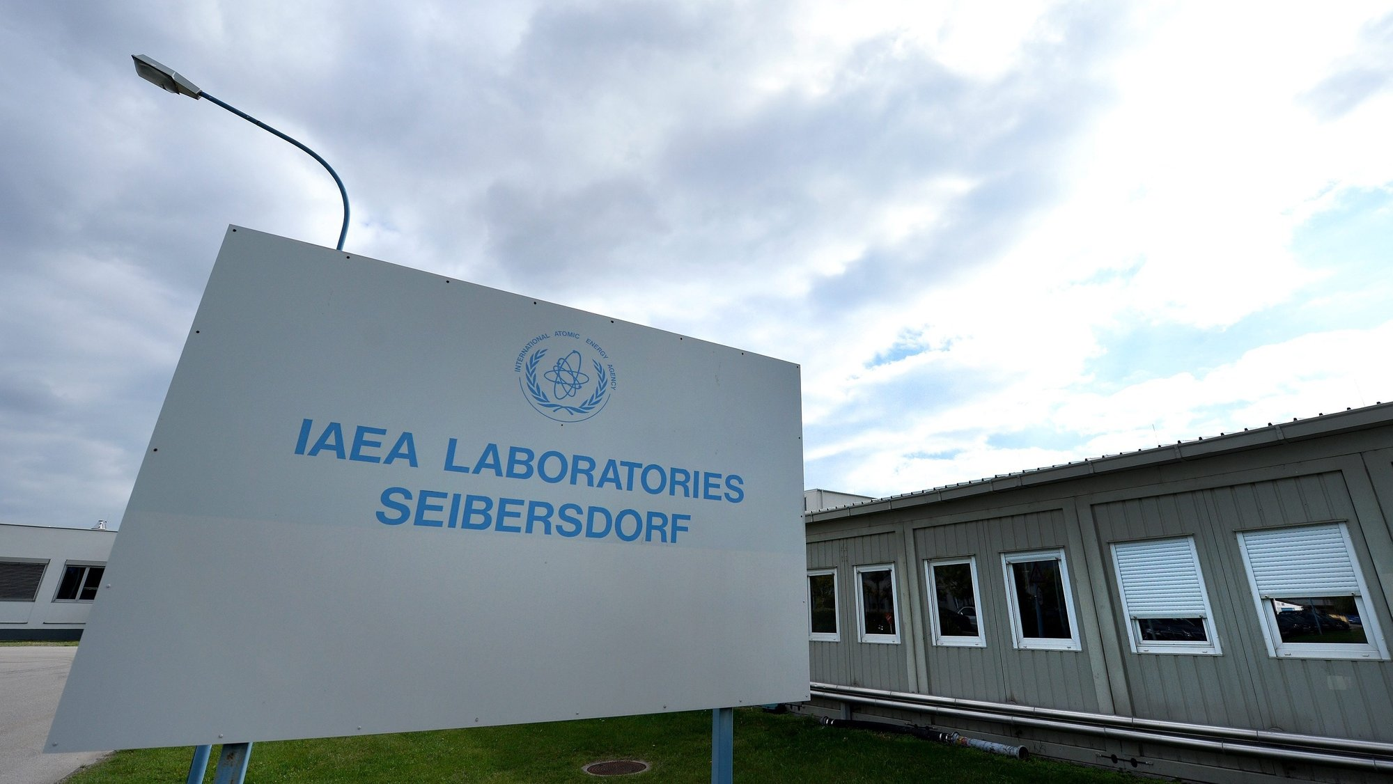 epa03880875 The entrance to the International Atomic Energy Agency's (IAEA) new nuclear Material Laboratory at the Agency's Seibersdorf facility in Seibersdorf, Austria, 23  September 2013. The laboratory is an essential component of the Agency's safeguards activities, as it analyses material sampled by safeguards inspectors from nuclear fuel cycle processes. The new building, which began construction in 2011, replaces an aging building which no longer meets the needs of the IAEA.  EPA/ROBERT JAEGER