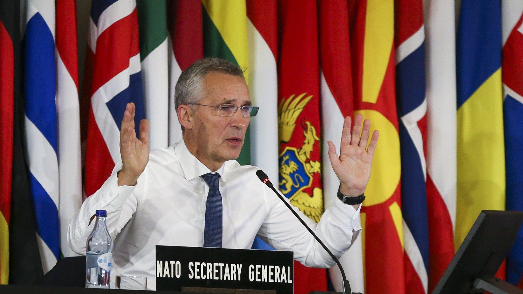 Secretário Geral da NATO, Jens Stoltenberg