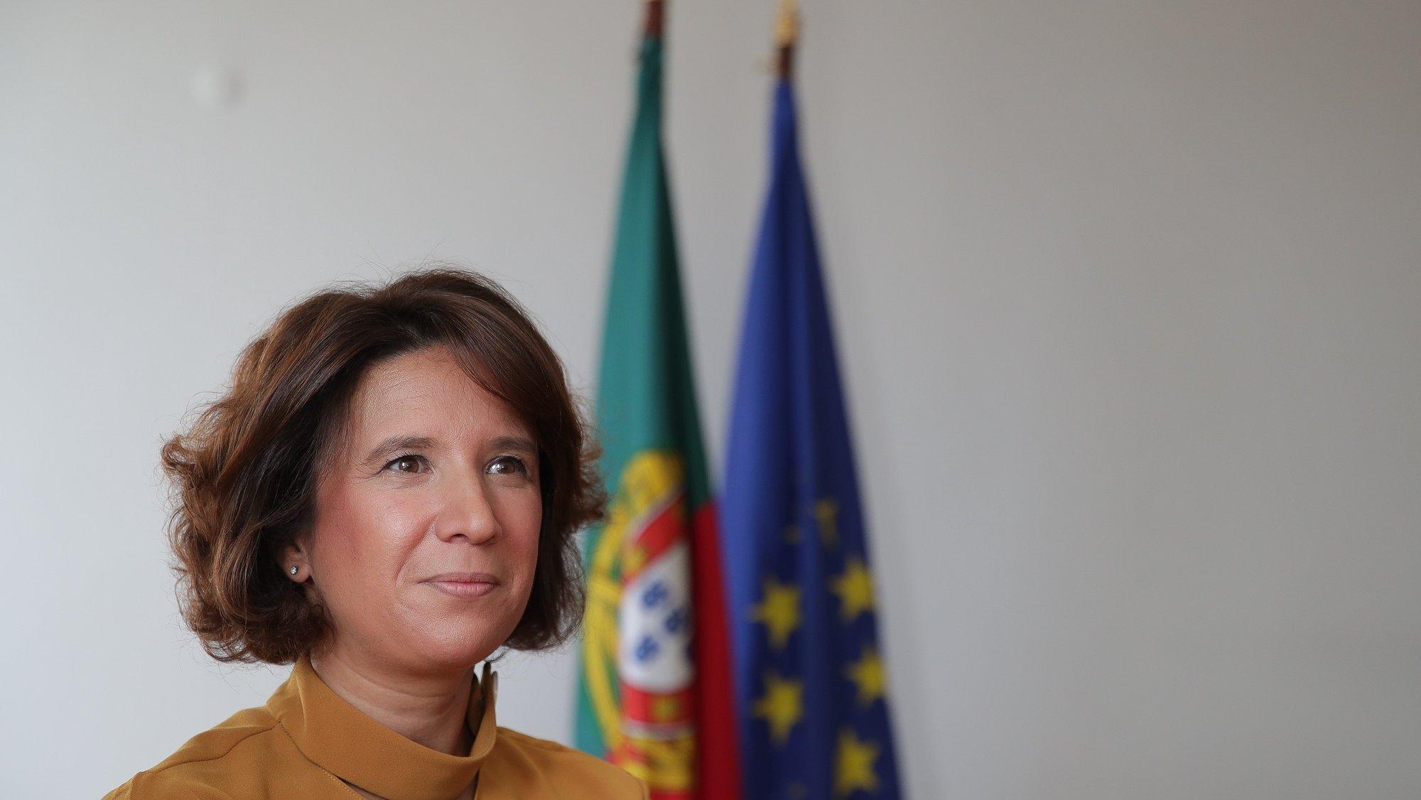 A secretária de Estado do Turismo, Rita Marques, durante uma entrevista à Lusa, no Ministério da Economia, em Lisboa, 30 de setembro de 2020. (ACOMPANHA TEXTO DO DIA 2 DE OUTUBRO DE 2020) MÁRIO CRUZ/LUSA