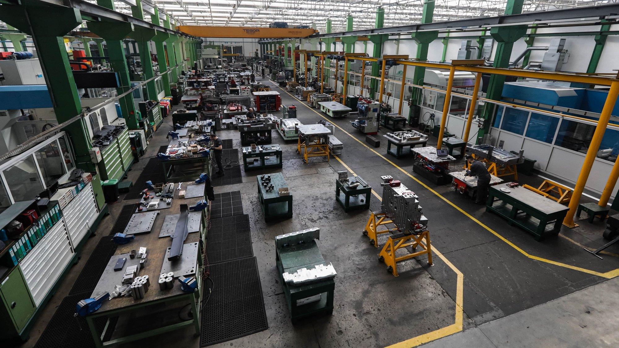 Empresa de moldes de aço Simoldes, em Oliveira de Azeméis, 09 de março de 2020. PAULO NOVAIS/LUSA