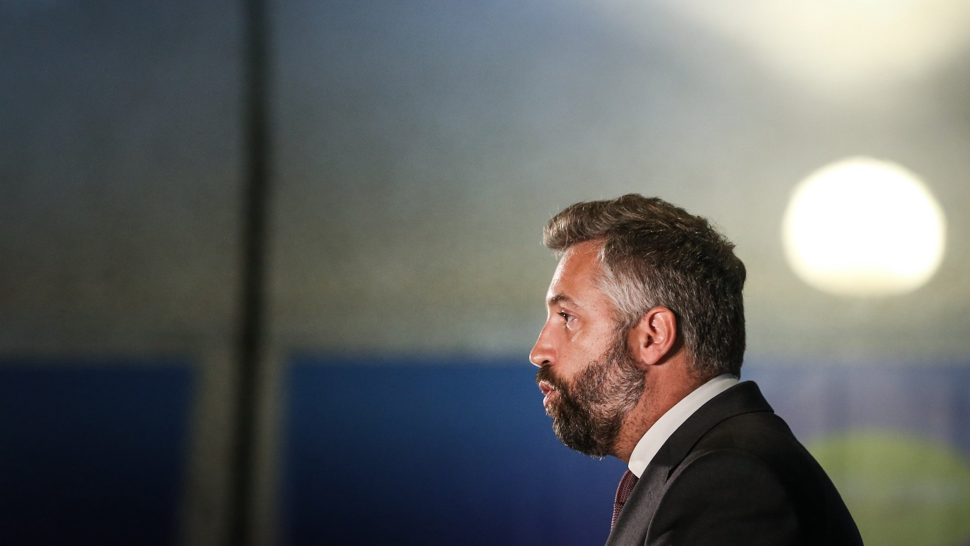 Portuguese Minister of Infrastructure and Housing Pedro Nuno Santos attends to Connecting Europe Express ceremony in Gare do Oriente train station in Lisbon, Portugal, 02 September. RODRIGO ANTUNES/LUSA