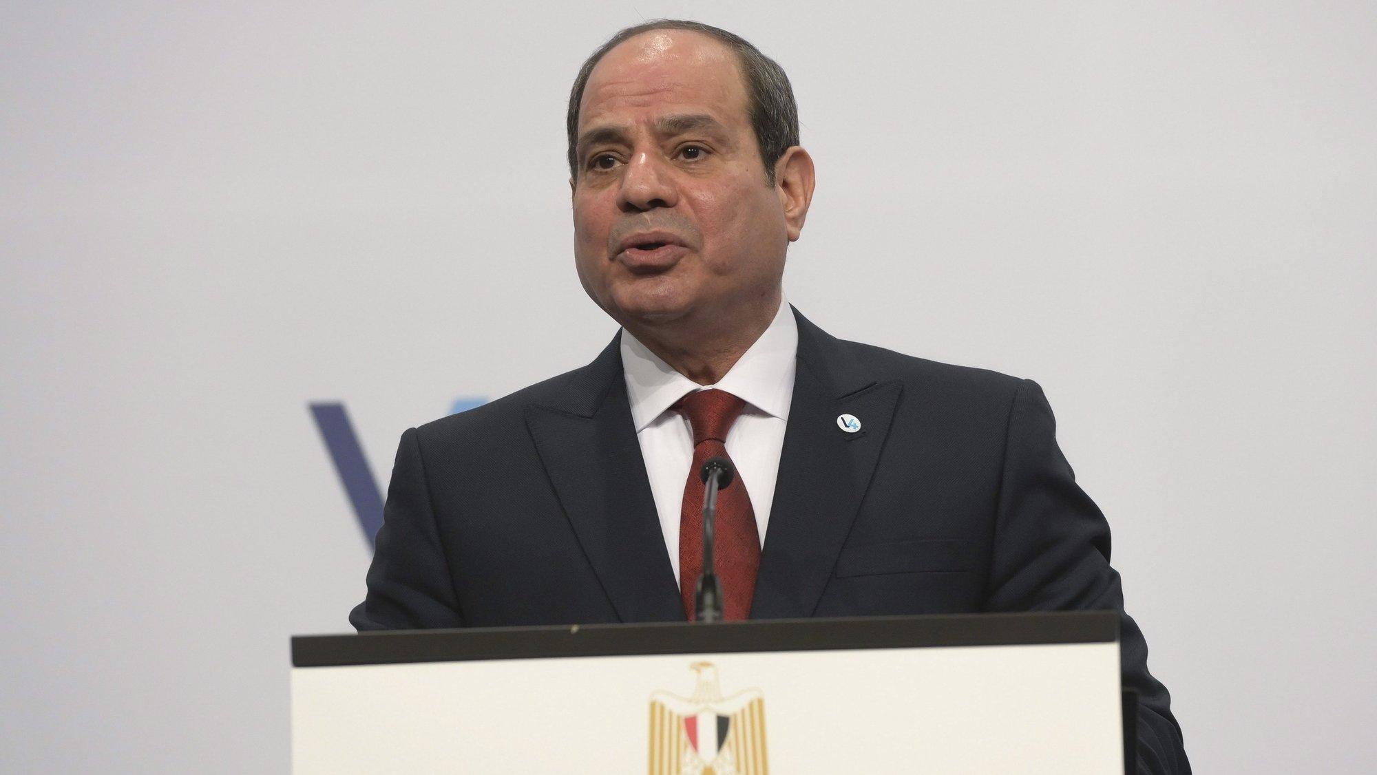 Abdel Fattah al-Sisi, presidente da república do Egito