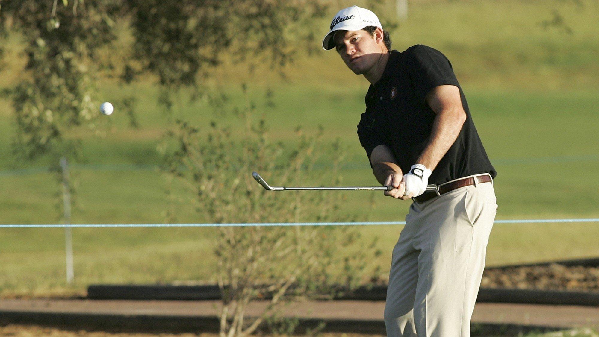Ricardo Melo Gouveia no Golf Portugal Masters 2012