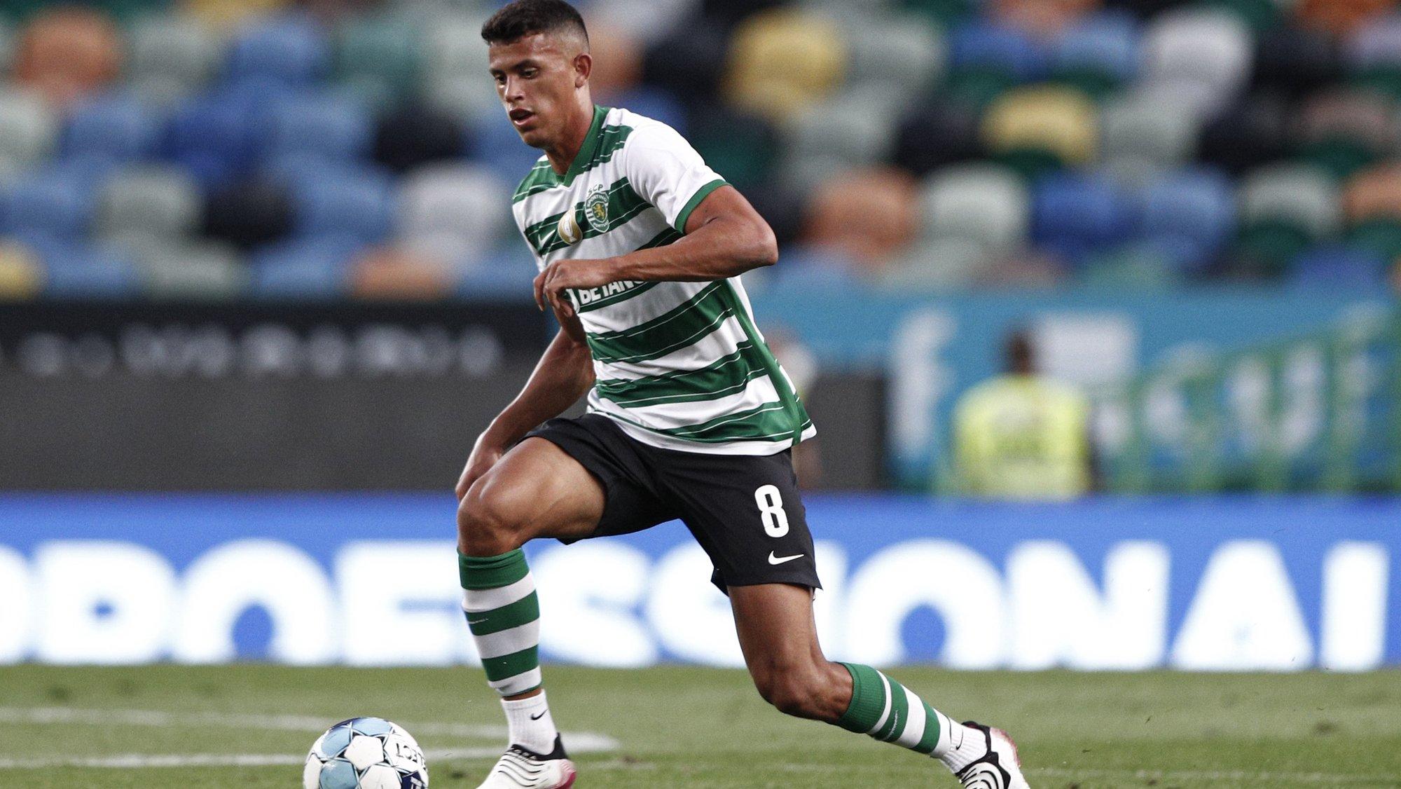 Mateus Nunes, jogador do Sporting