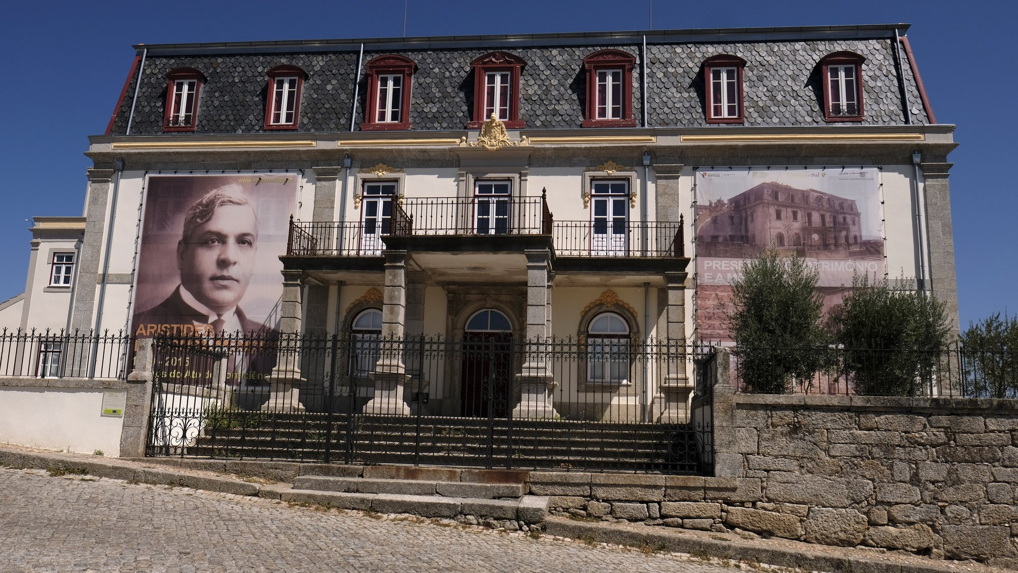 Casa de Aristides de Sousa Mendes, em Cabanas de Viriato, Carregal do Sal, Distrito de Viseu, 14 de setembro de 2017. NUNO ANDRÉ FERREIRA / LUSA.