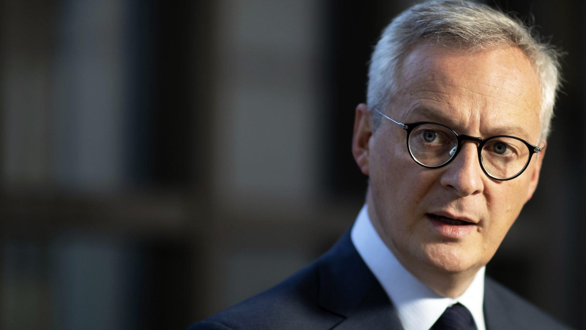 Bruno Le Maire, ministro das Finanças francês