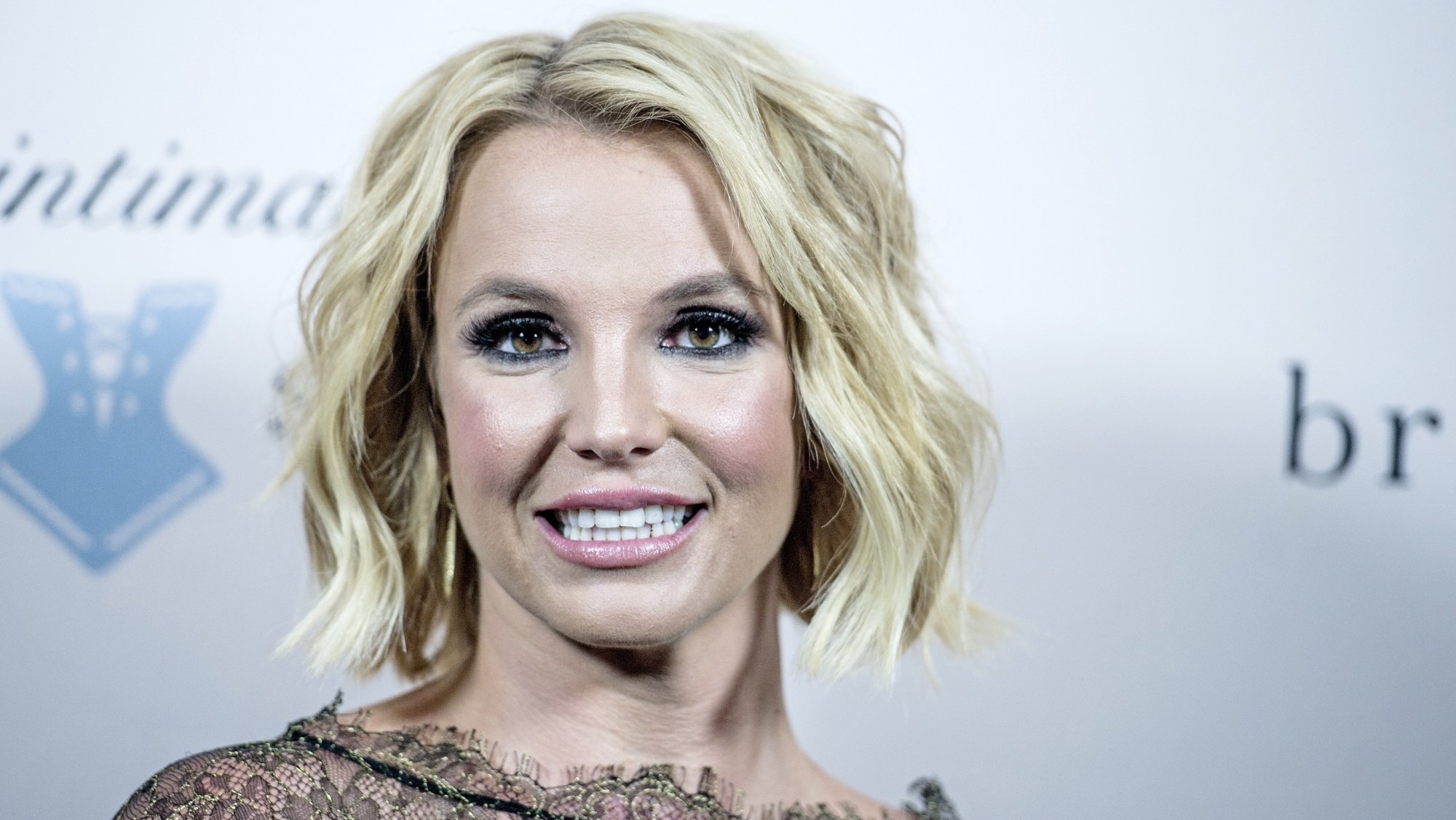 epa08398618 (FILE) - US singer Britney Spears smiles during the launch of her new lingerie brand 'The Intimate Britney Spears' with an event at the Forum in Copenhagen, Denmark, 25 September 2014 (reissued 03 May 2020). Reports from 02 May 2020 state that a judge in California extended the conservatorship on Spears until end of August 2020. The reports on an order authorising Britney's temporary conservator's extended term come only few days after Spears accidentally set her gym on fire.  EPA/CHRISTIAN LILIENDAHL  DENMARK OUT *** Local Caption *** 51587619