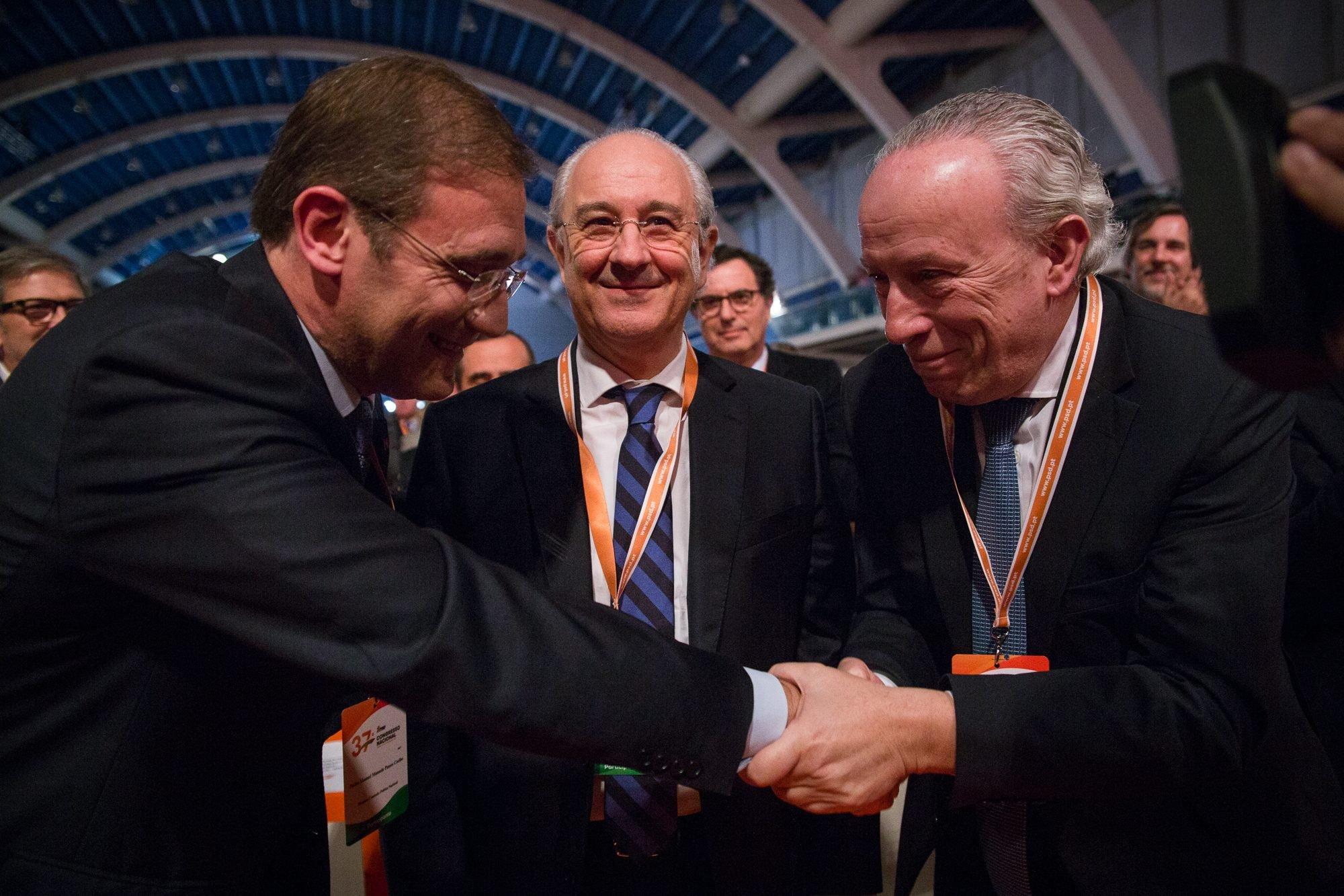 Rui Rio, Congresso Nacional do PSD, Pedro Santana Lopes, Pedro Passos Coelho
